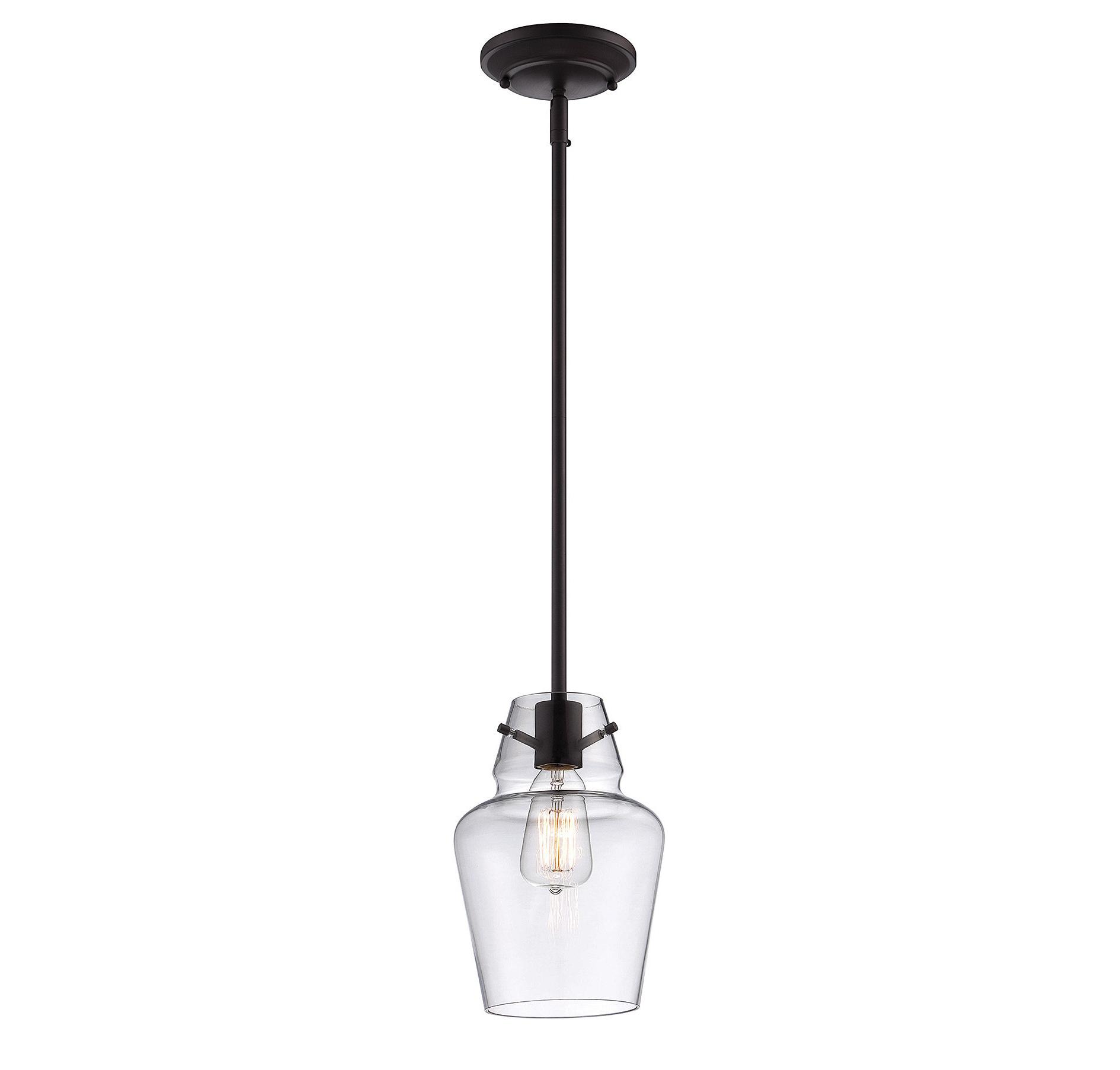 Roslindale 1-Light Single Bell Pendants regarding Fashionable Roslindale 1-Light Single Bell Pendant