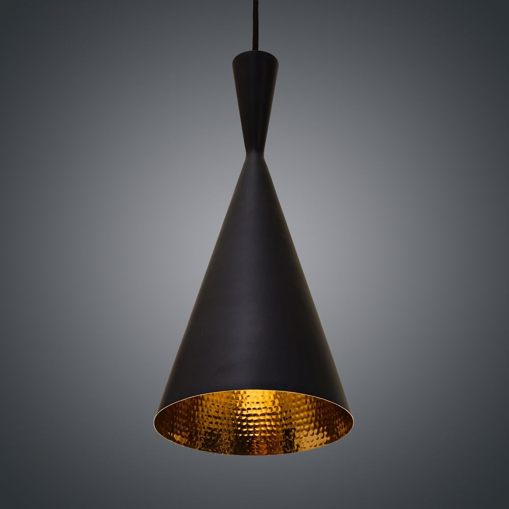 Rossi Industrial Vintage 1 Light Geometric Pendants For Most Popular Подвесной Светильник Tom Dixon Beat Tall 10039 В 2019 Г (View 20 of 25)