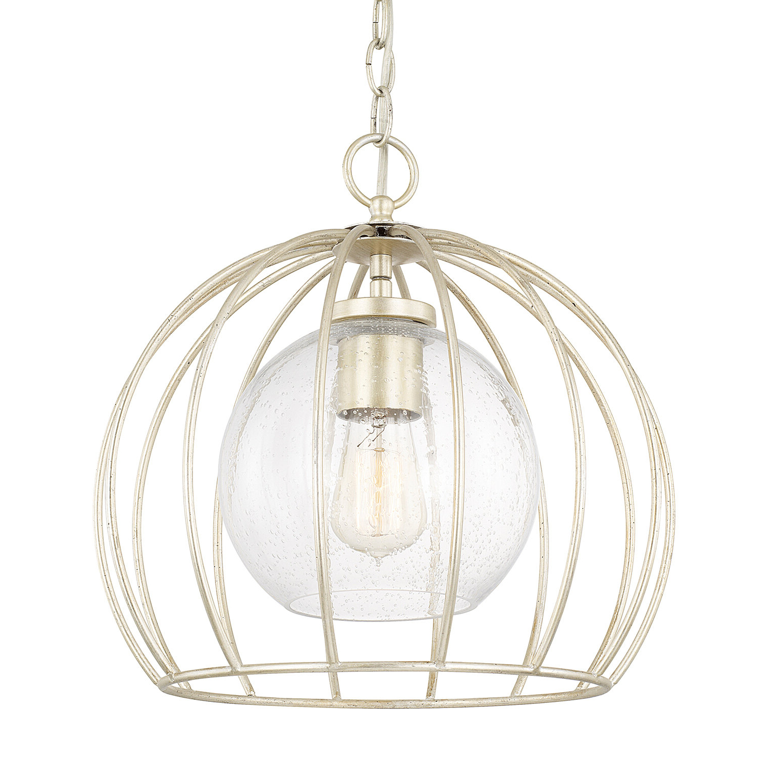 Rossi Industrial Vintage 1 Light Geometric Pendants Within Popular Aarons 1 Light Bowl Pendant (View 19 of 25)