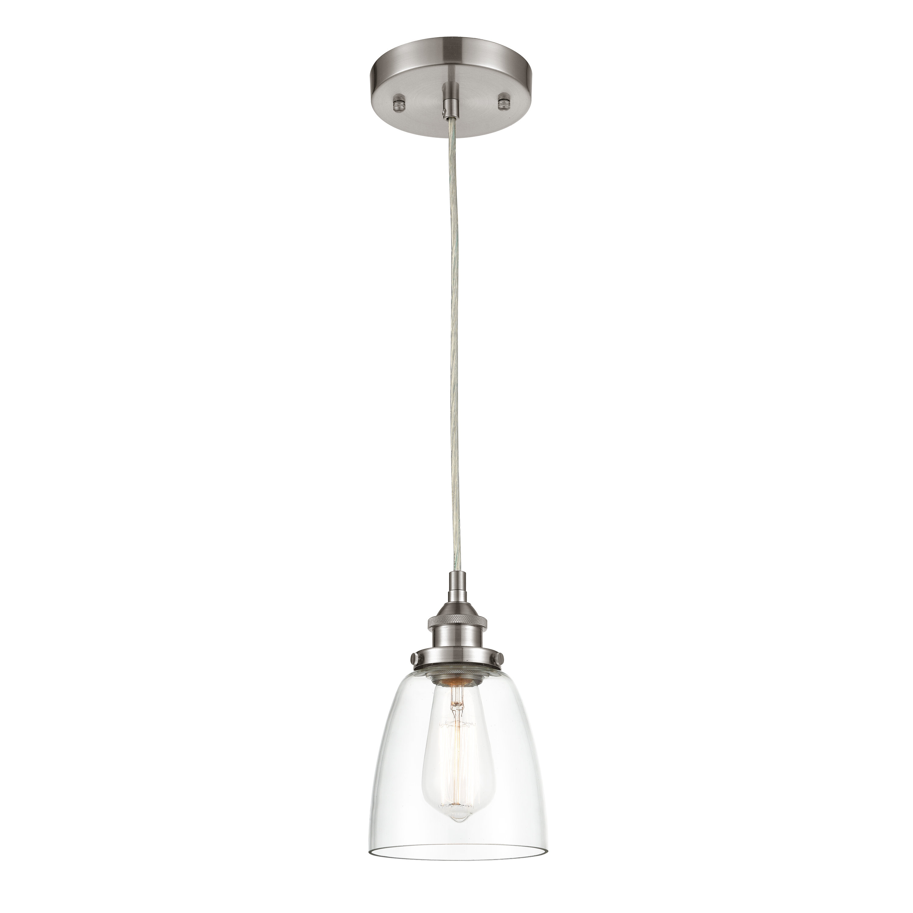 Ryker 1 Light Single Dome Pendants Intended For Latest Iron Gate 1 Light Single Bell Pendant (View 17 of 25)