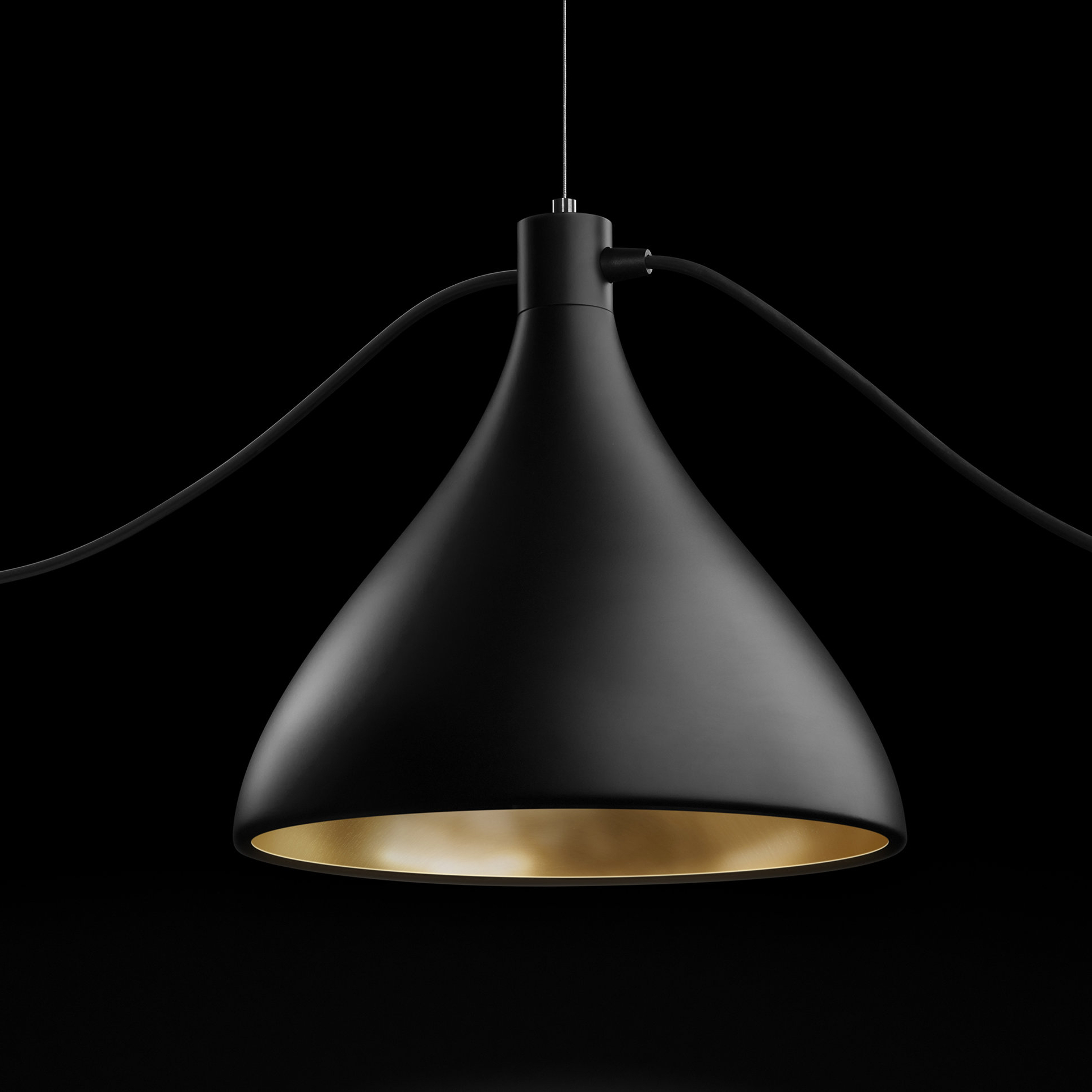Ryker 1 Light Single Dome Pendants With Regard To Well Liked Pablo Designs Swell 1 Light Single Bell Pendant & Reviews (View 6 of 25)