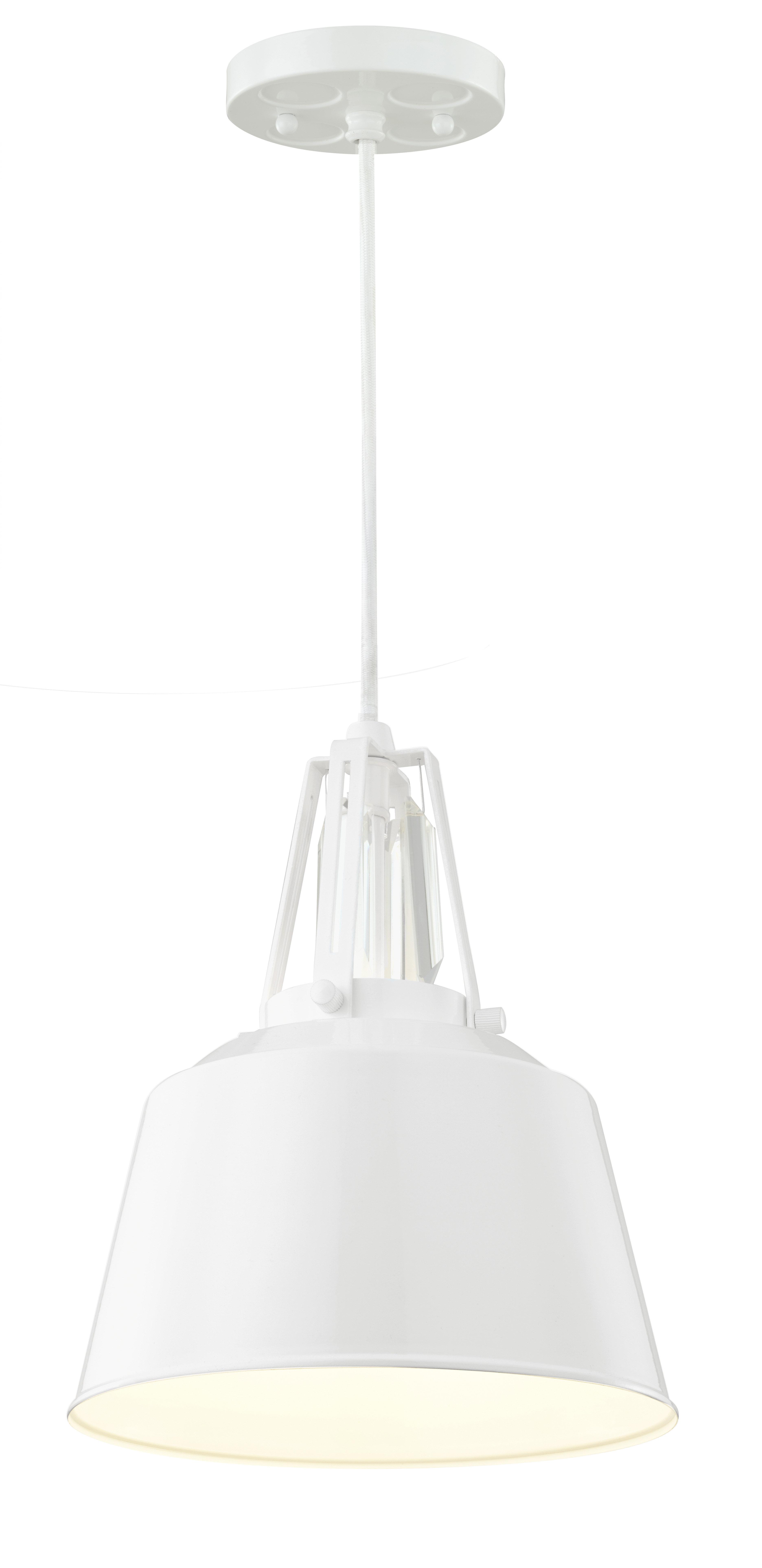 Sarah 1 Light Single Bell Pendant Regarding Most Current Nadeau 1 Light Single Cone Pendants (View 23 of 25)