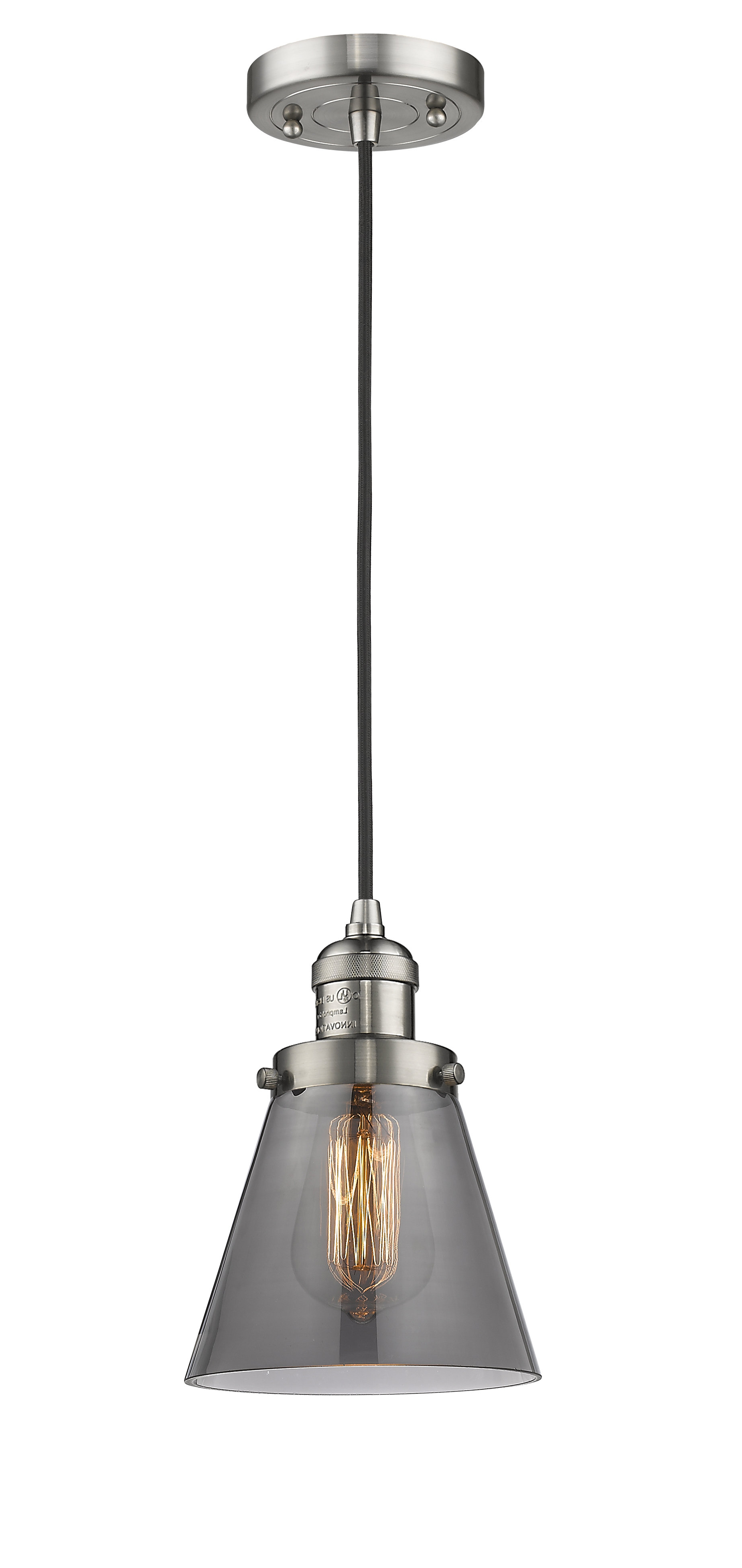 Sargent 1 Light Single Bell Pendants In Well Liked Pachna 1 Light Single Cone Pendant (View 21 of 25)