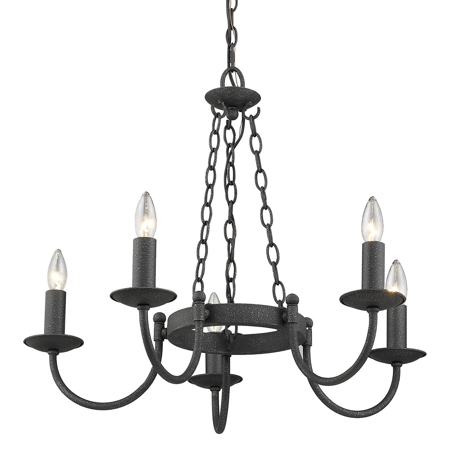 Shaylee 5 Light Candle Style Chandeliers In Fashionable Barcroft 5 Light Candle Style Chandelier (View 15 of 25)