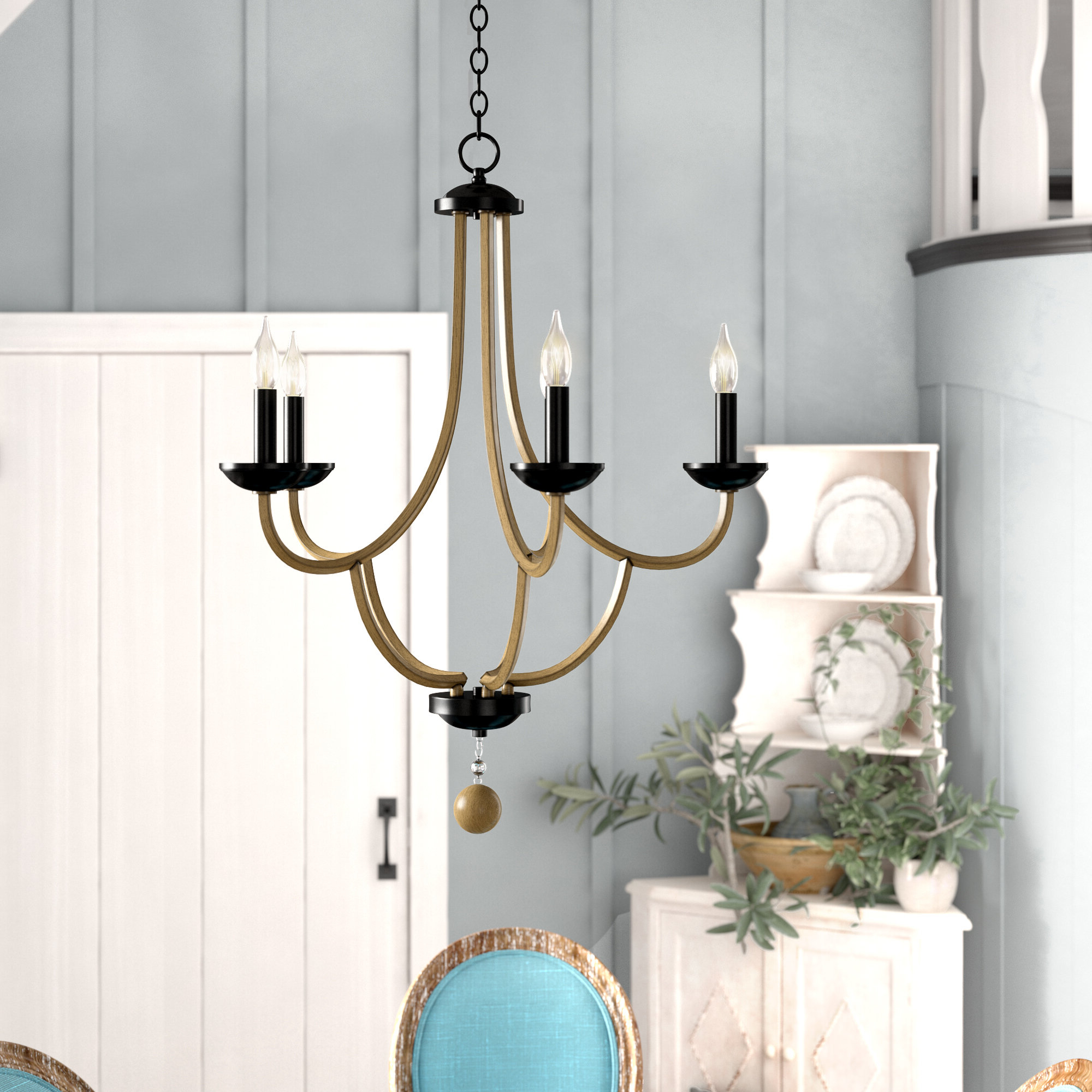 Shaylee 5 Light Candle Style Chandeliers With Regard To Popular Winget 5 Light Candle Style Chandelier (View 19 of 25)