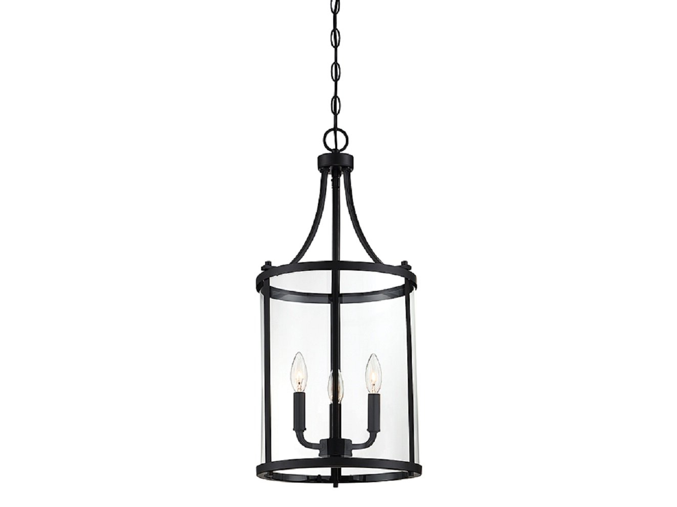 Sherri Ann 3 Light Lantern Square / Rectangle Pendants In Famous Ezio 3 Light Lantern Cylinder Pendant (View 14 of 25)
