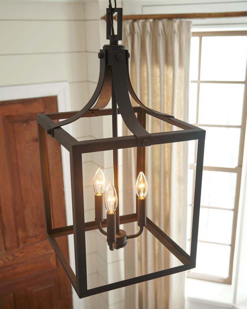 Sherri Ann 3 Light Lantern Square / Rectangle Pendants With Regard To Trendy Sherri Ann 3 Light Lantern Pendant (View 18 of 25)