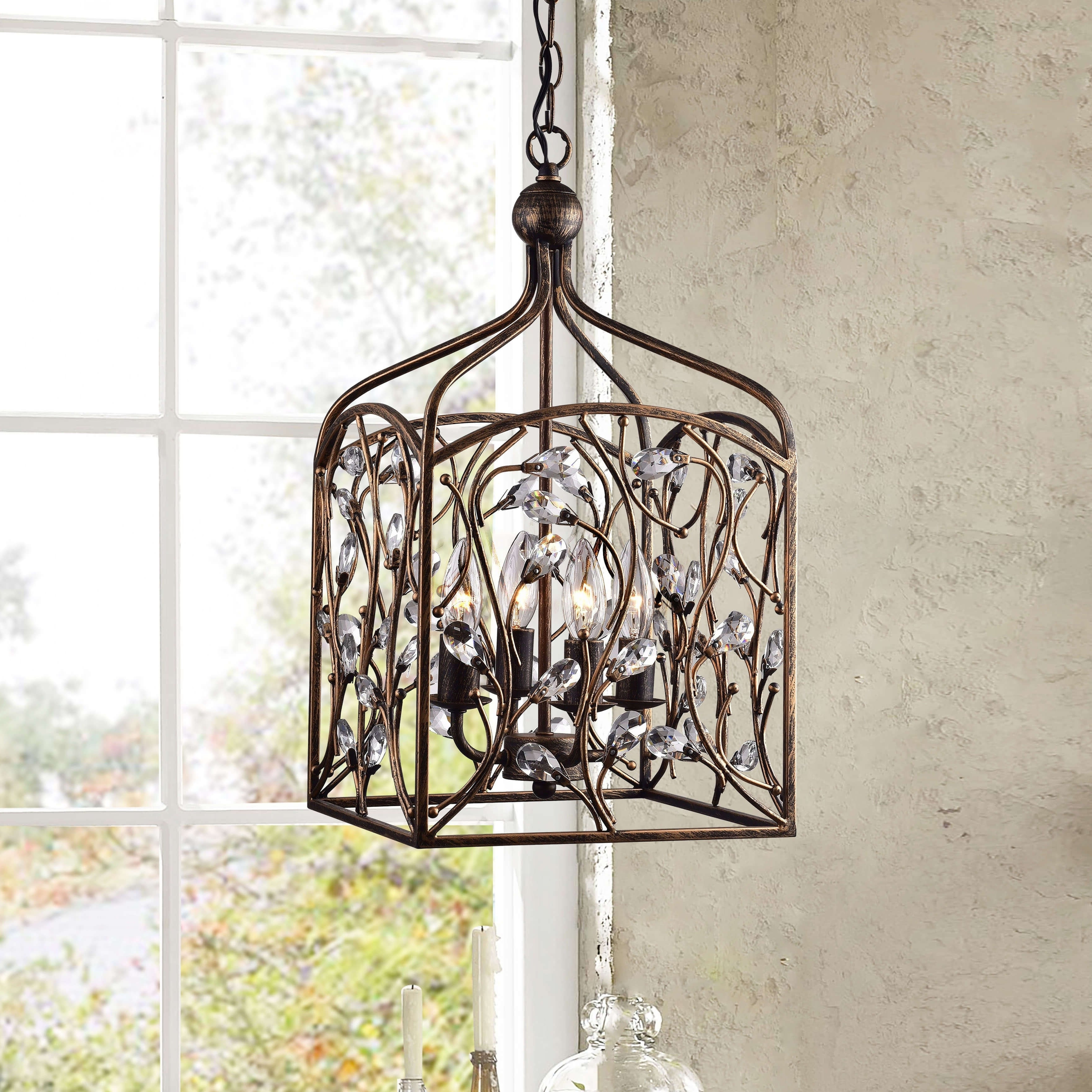 Shop Our Best Within Most Up To Date Destrey 3 Light Lantern Square/rectangle Pendants (View 24 of 25)