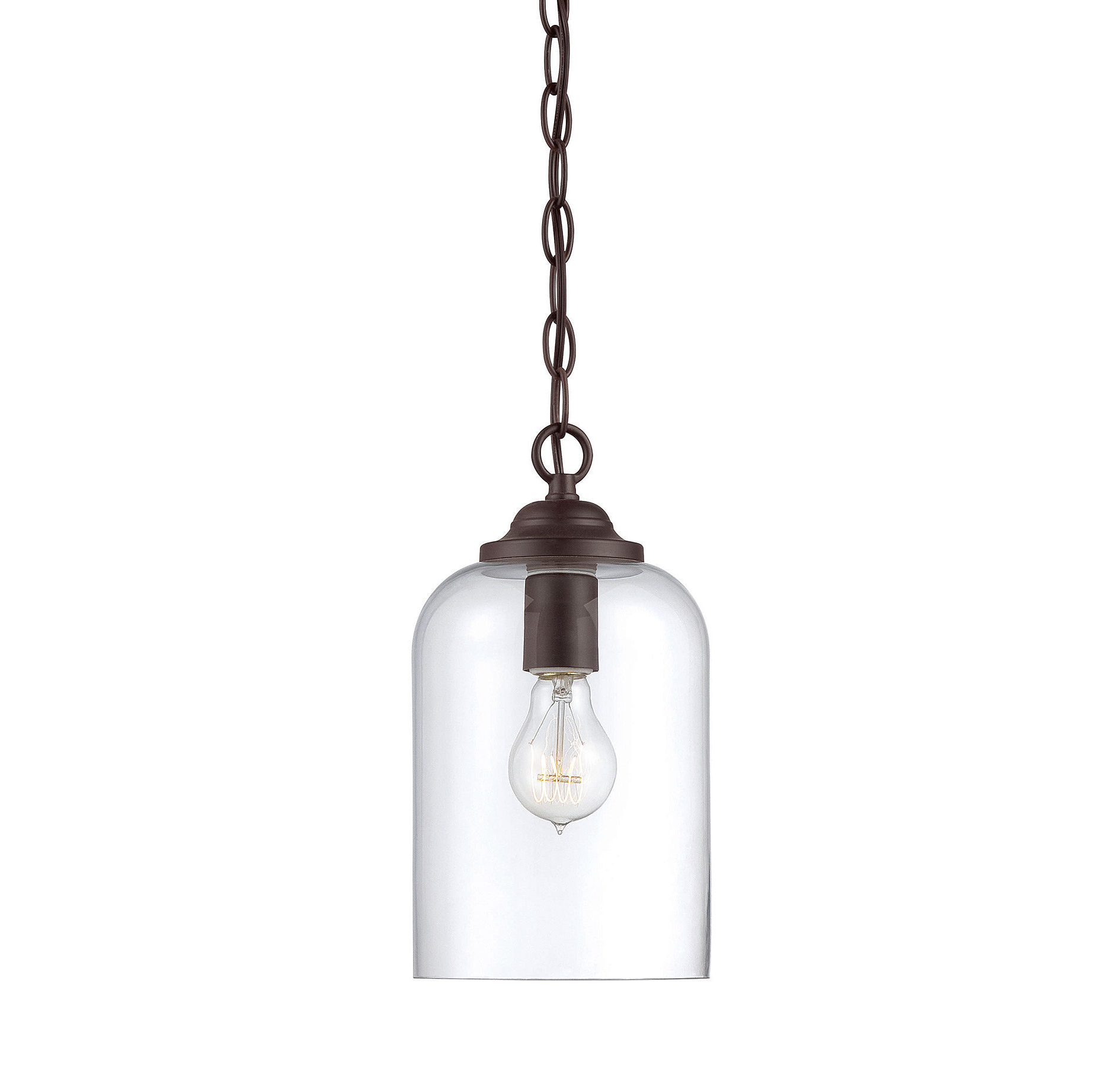 Silber 1 Light Single Bell Pendant In Widely Used Clematite 1 Light Single Jar Pendants (View 18 of 25)