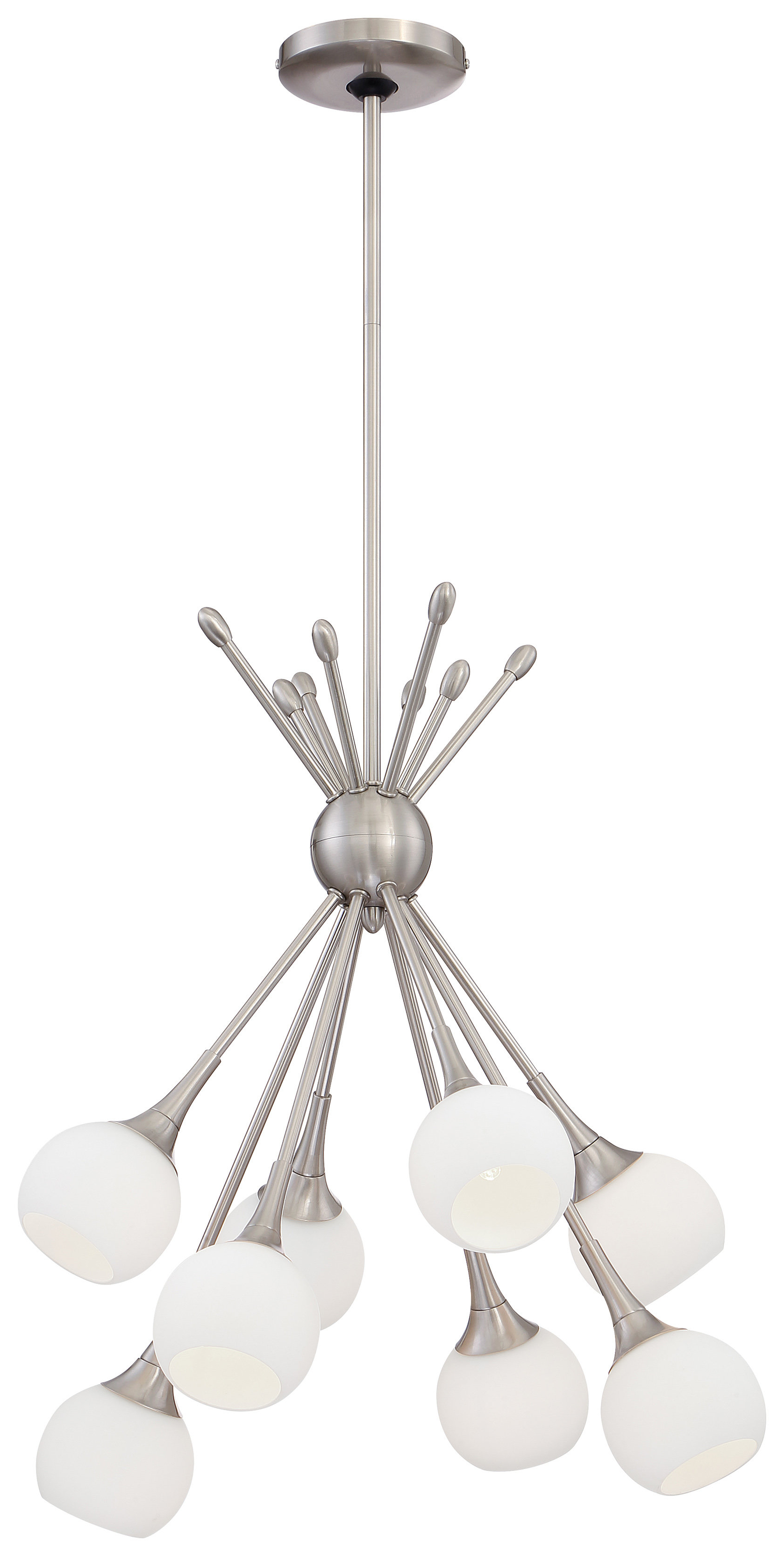 Silvia 6 Light Sputnik Chandeliers Intended For Favorite Silvia 8 Light Chandelier (View 11 of 25)