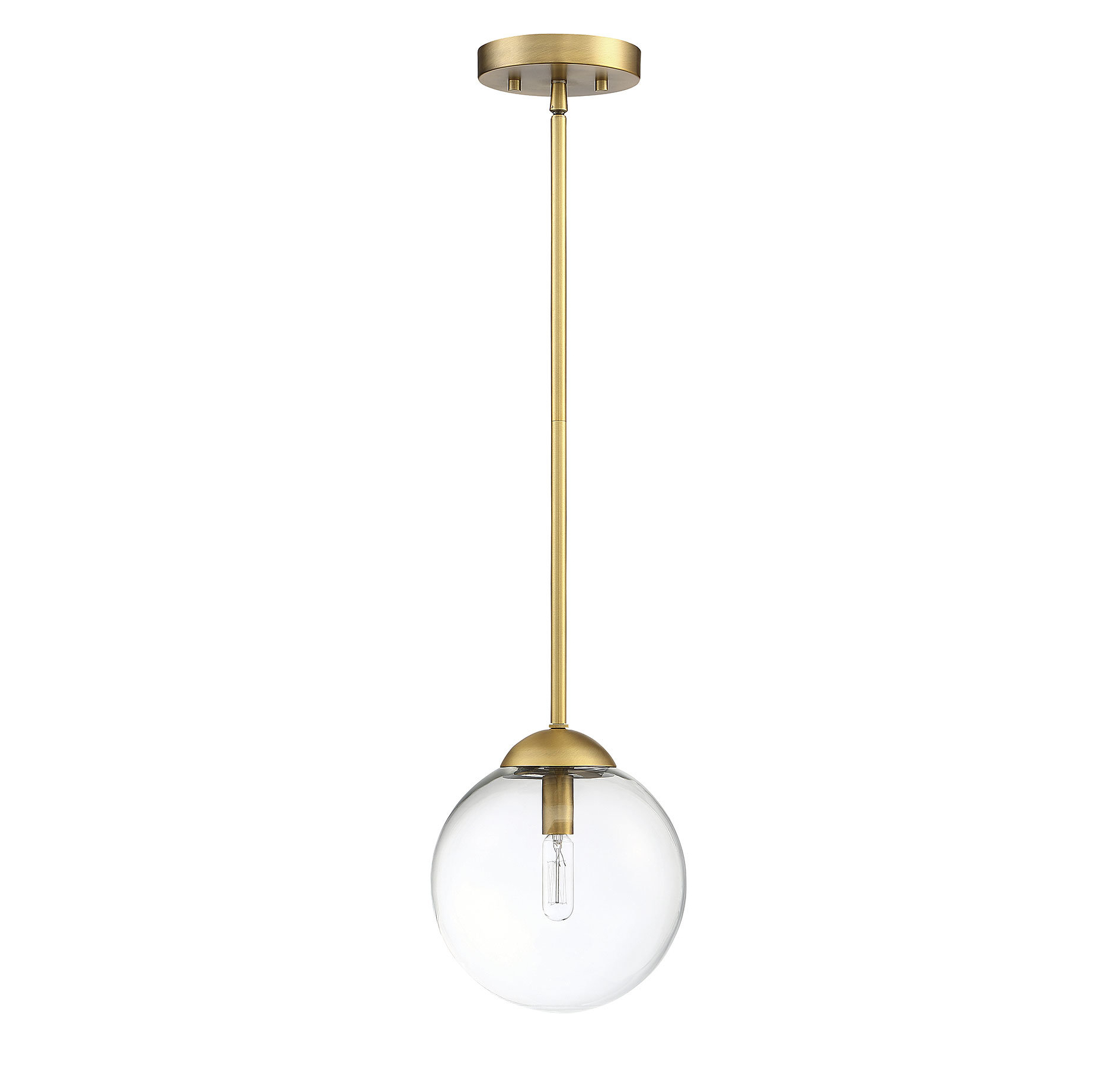 St Judes 1 Light Single Globe Pendant Regarding Current Cayden 1 Light Single Globe Pendants (View 14 of 25)