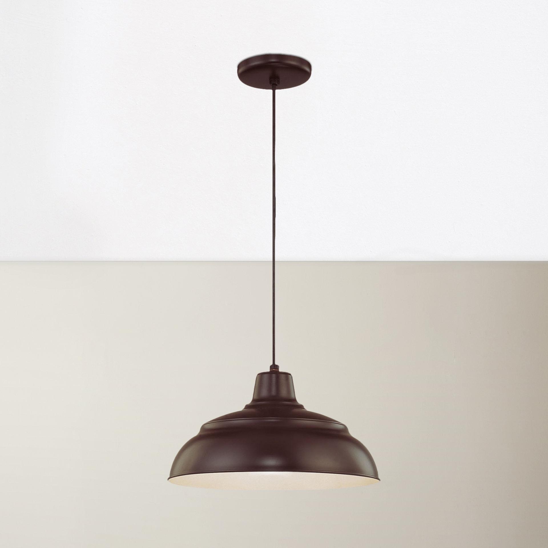 Stetson 1 Light Bowl Pendant With Favorite Adriana Black 1 Light Single Dome Pendants (View 5 of 25)