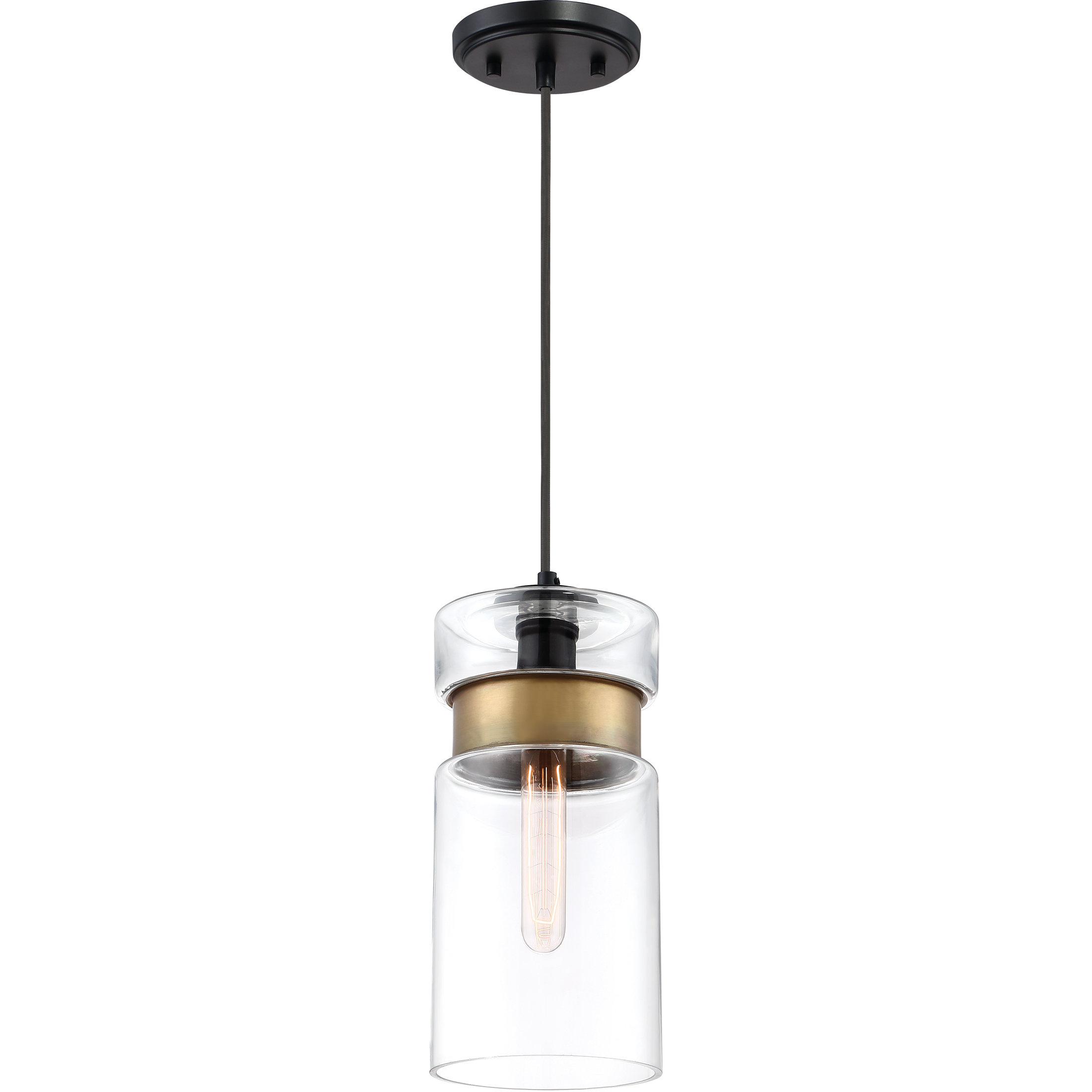 Sue 1 Light Single Jar Pendants With Latest Nagel 1 Light Cylinder Pendant (View 10 of 25)