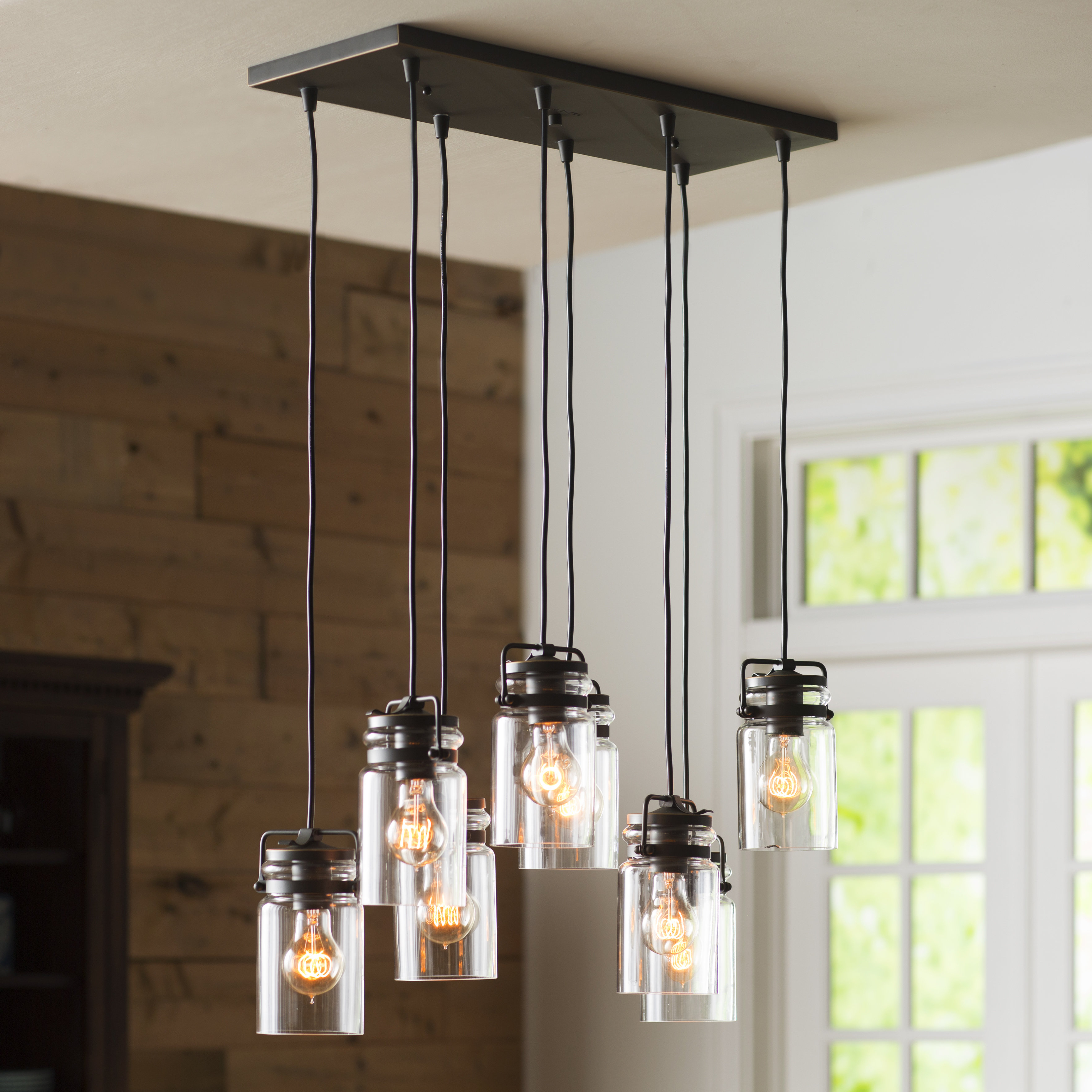Sue 8 Light Cluster Cylinder Pendant Regarding Most Current Vernice 3 Light Cluster Bell Pendants (View 15 of 25)