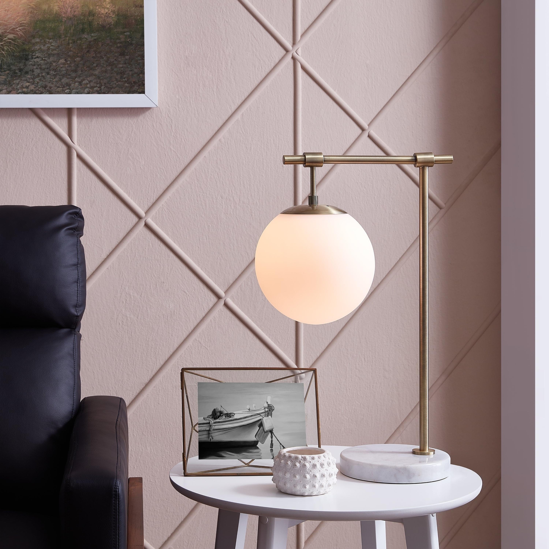 Suki 5 Light Shaded Chandeliers Regarding Popular Carson Carrington Ulriksfors Stone And Metal Table Lamp (View 25 of 25)