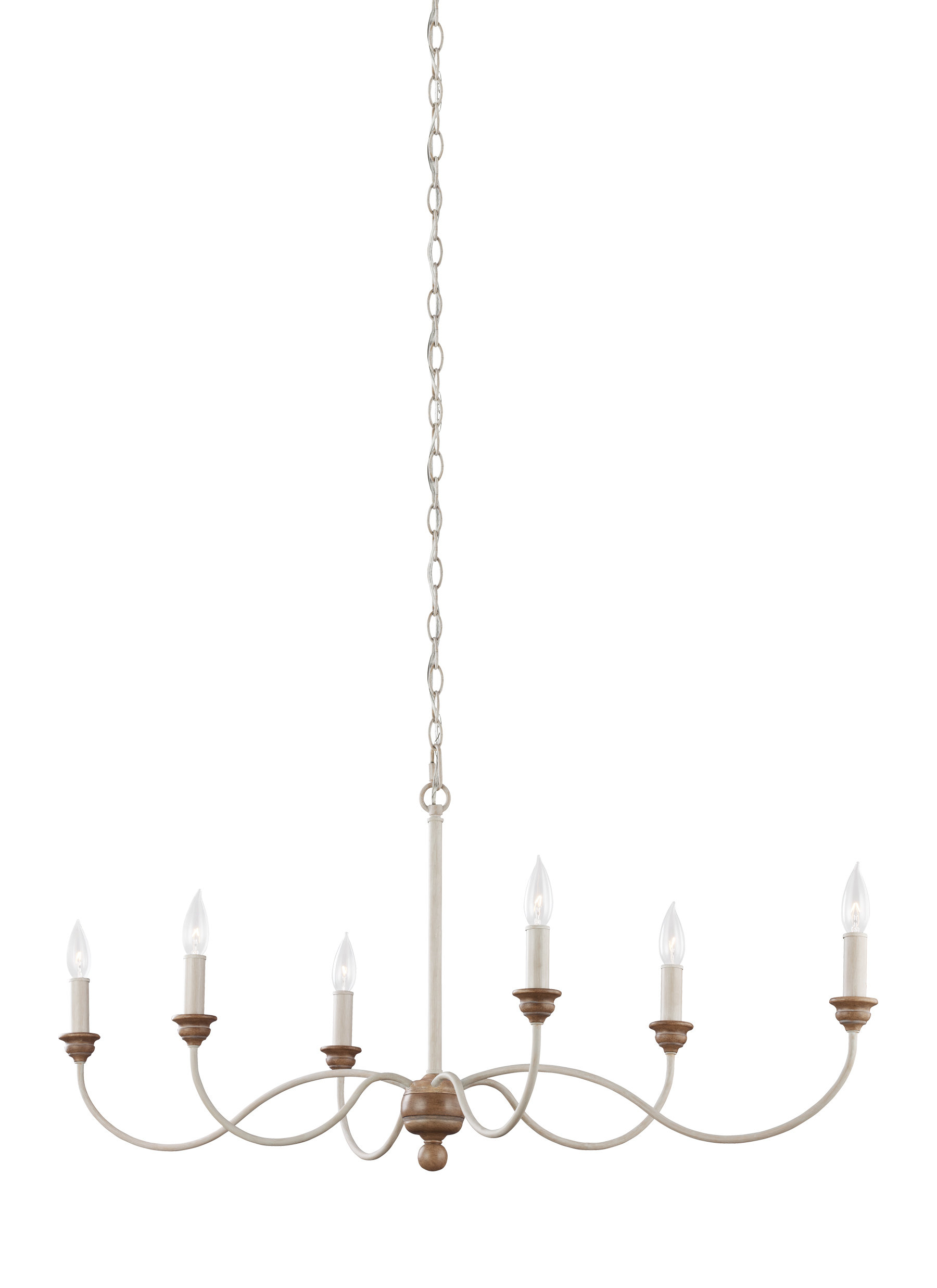 Sundberg 6 Light Candle Style Chandelier With Regard To Famous Shaylee 6 Light Candle Style Chandeliers (View 23 of 25)