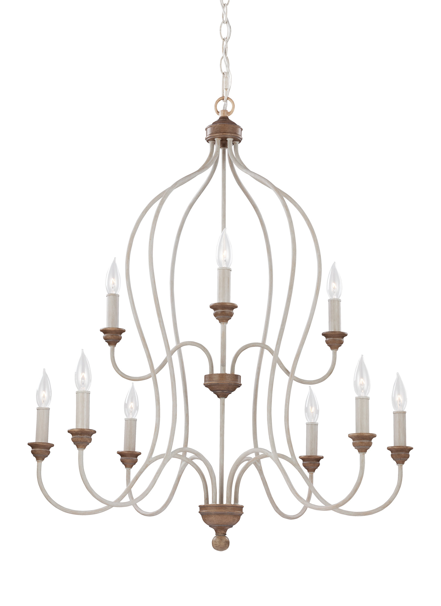 Sundberg 9 Light Candle Style Chandelier With Most Up To Date Hesse 5 Light Candle Style Chandeliers (View 20 of 25)