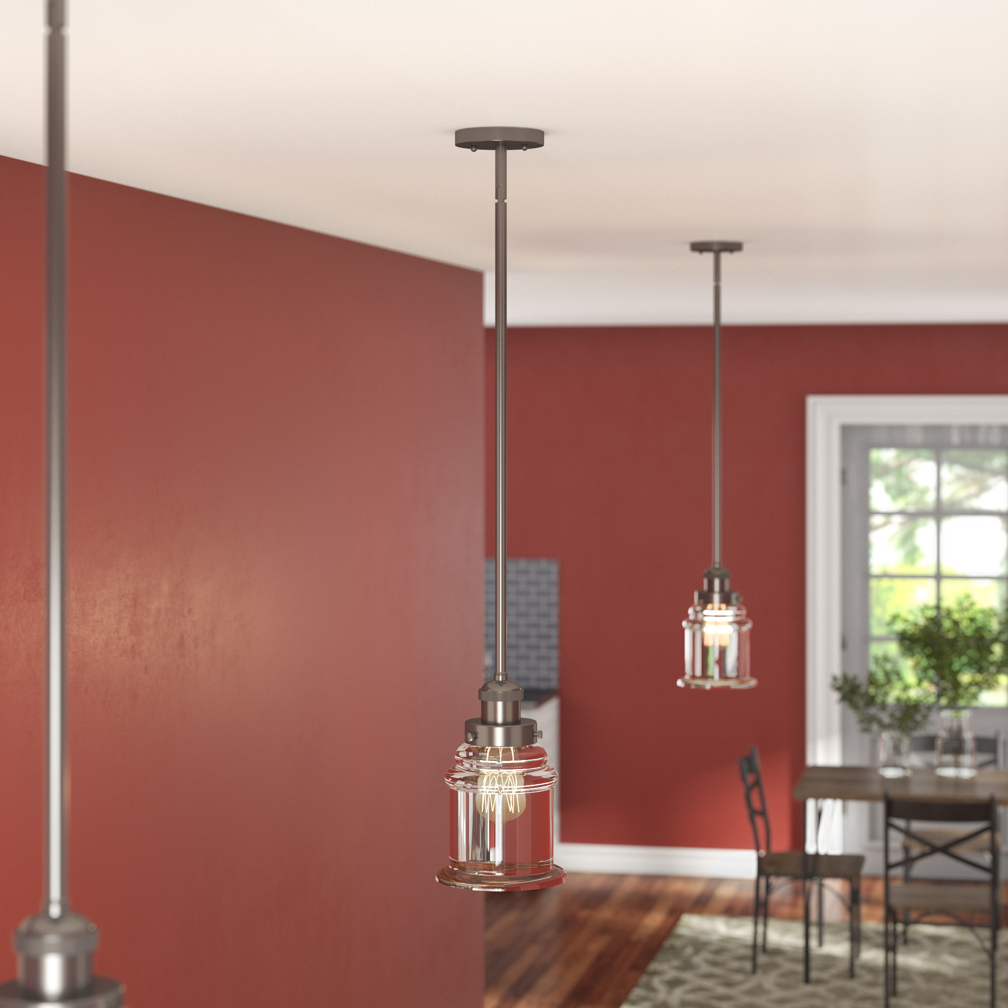 Terry 1 Light Single Bell Pendants In Trendy Bell Shaped Pendant Light You'll Love In  (View 21 of 25)