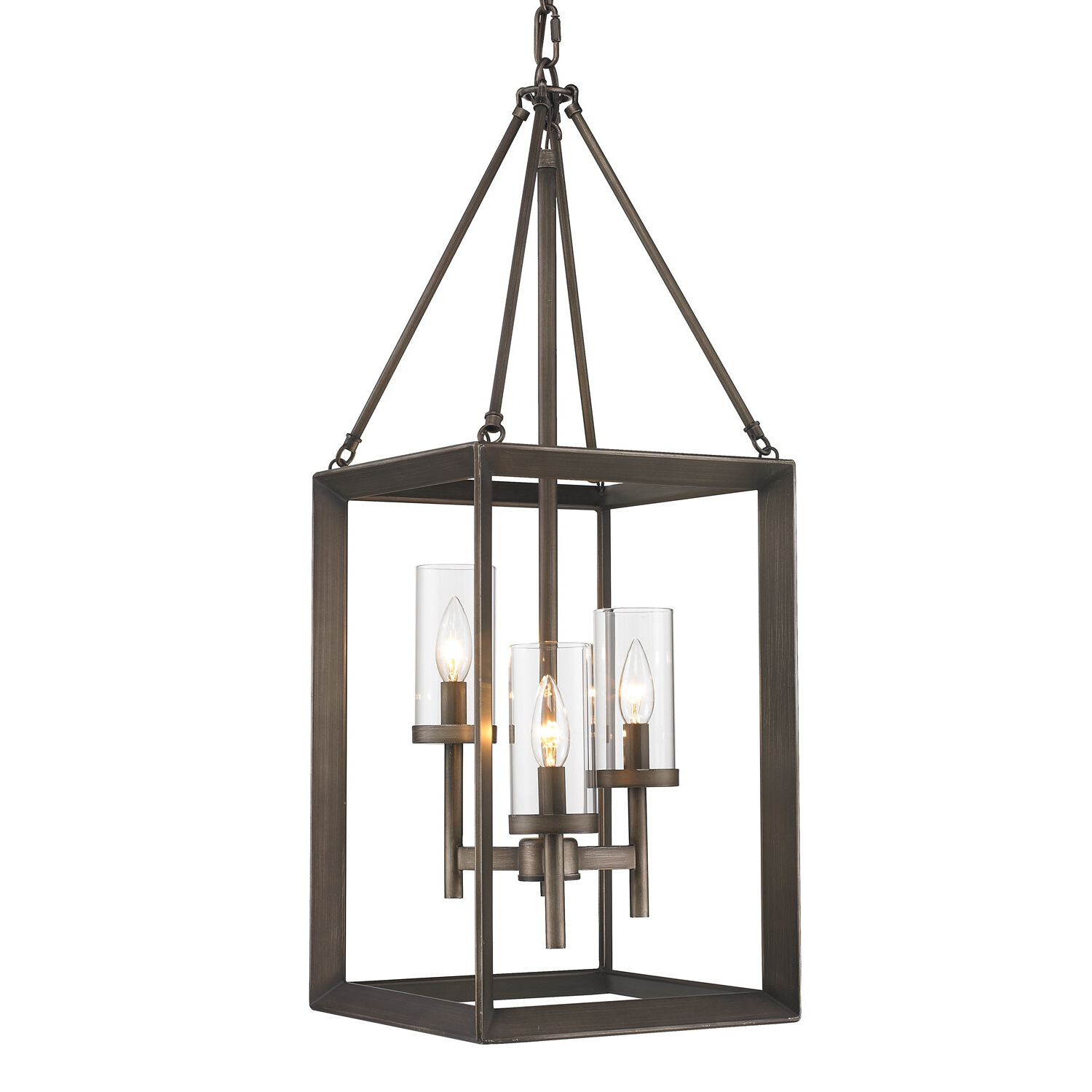 Three Posts Thorne 3 Light Foyer Pendant With Regard To Most Up To Date Thorne 4 Light Lantern Rectangle Pendants (View 17 of 25)