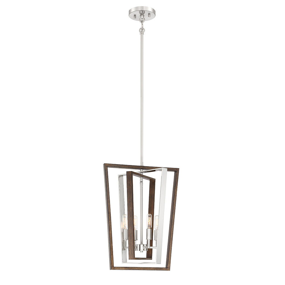 Tiana 4 Light Geometric Chandeliers For Most Popular Shamus 4 Light Geometric Chandelier (View 6 of 25)