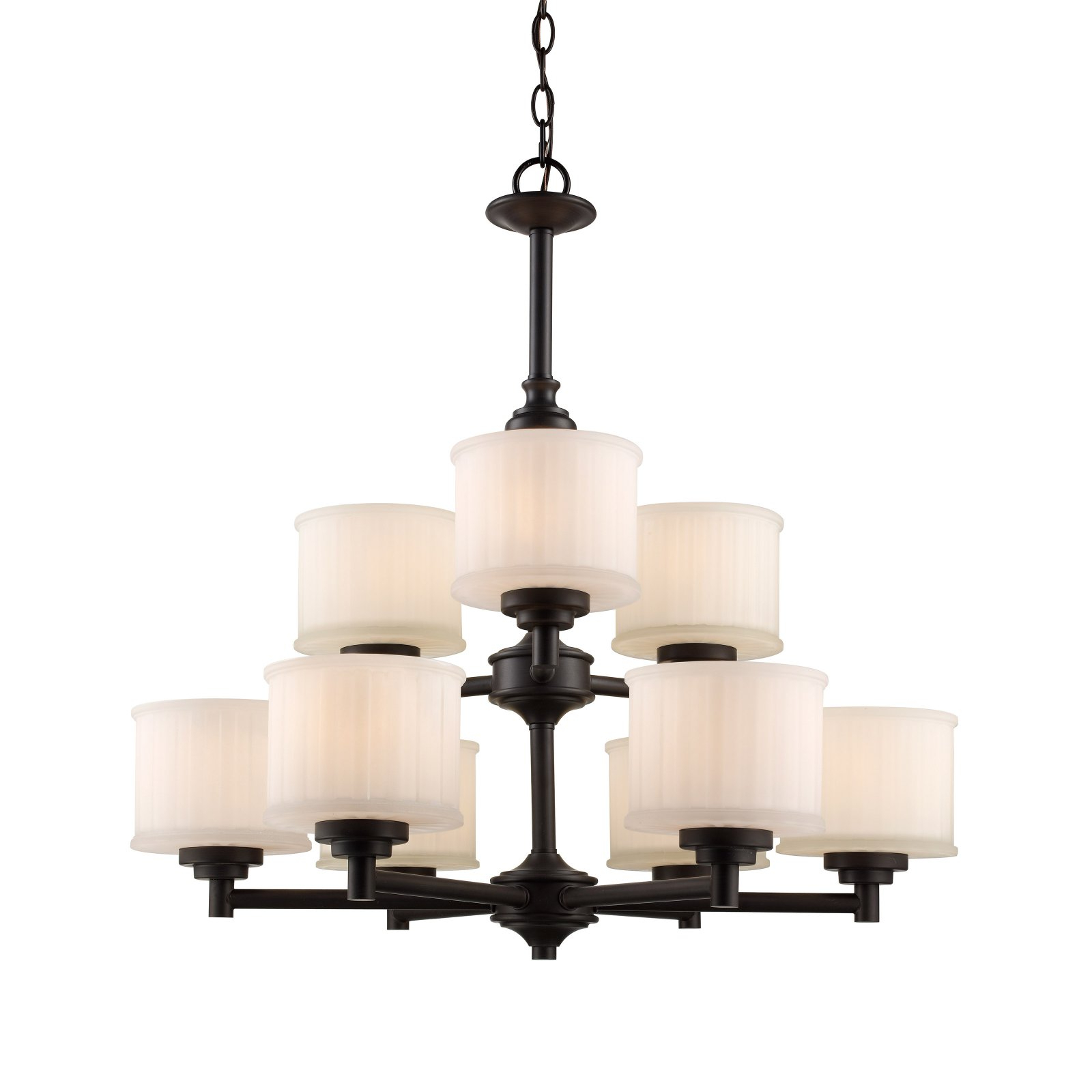 Trans Globe Lighting Cahill 70729 Chandelier In 2019 With Most Popular Suki 5 Light Shaded Chandeliers (View 13 of 25)