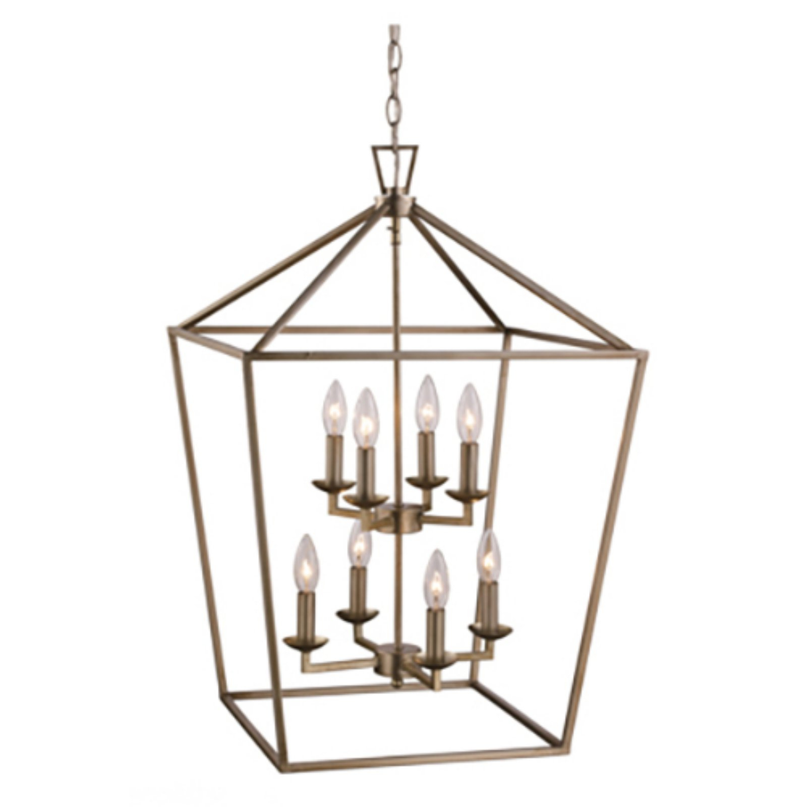 Trans Globe Lighting Lacey 10268 Pendant Light Polished Throughout Most Popular Thorne 4 Light Lantern Rectangle Pendants (View 24 of 25)