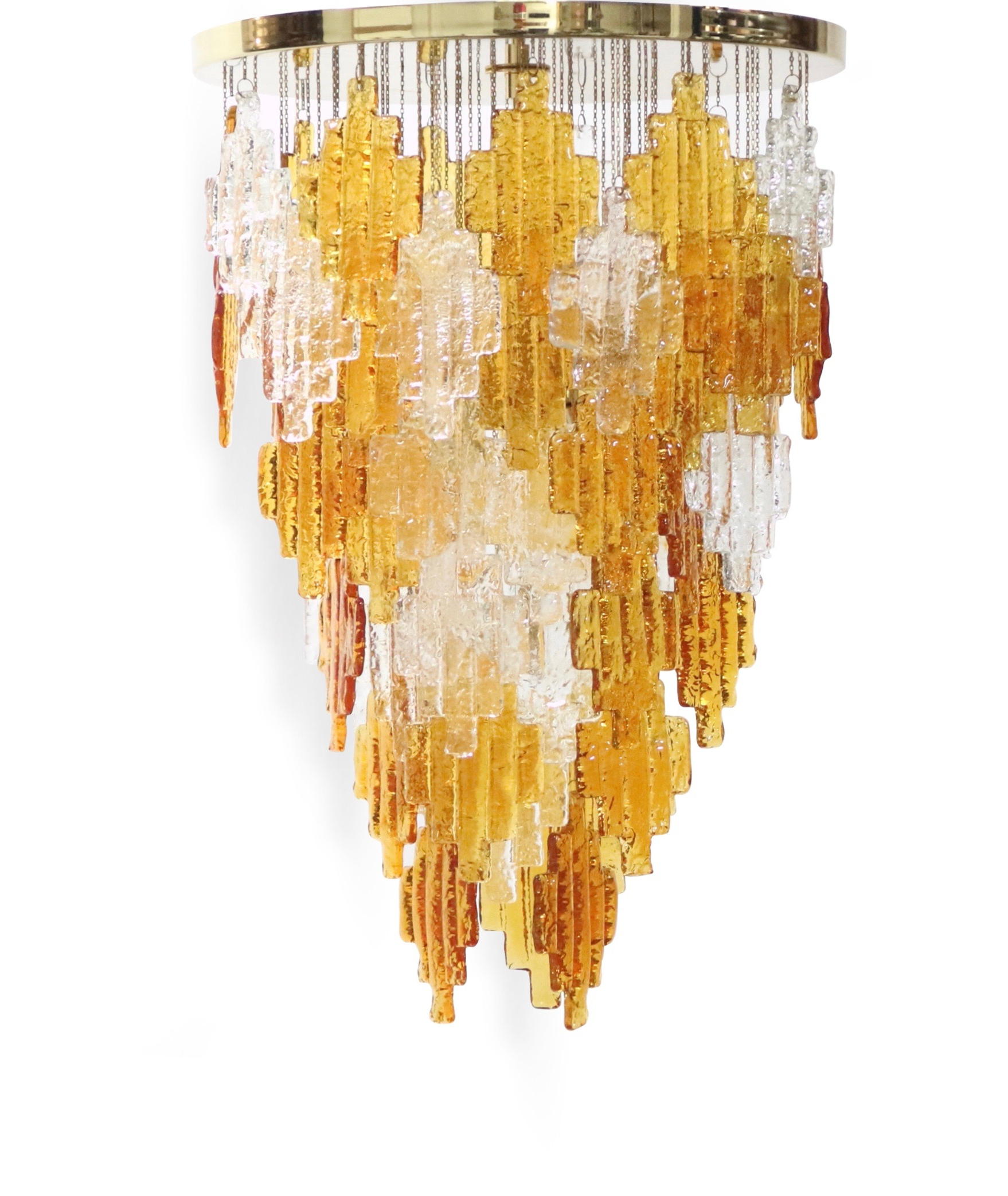 Trendy Albano Poli For Poliarte Italian Midcentury Murano Glass Throughout Albano 4 Light Crystal Chandeliers (View 22 of 25)