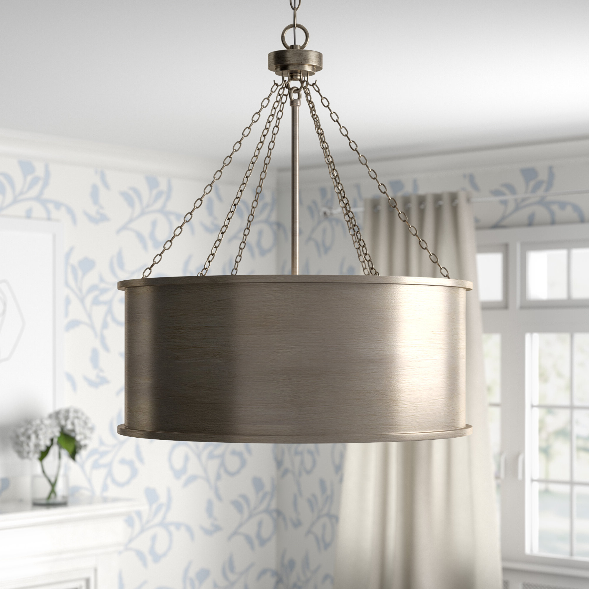 Trendy Bowe 6 Light Pendant Pertaining To Vincent 5 Light Drum Chandeliers (View 19 of 25)