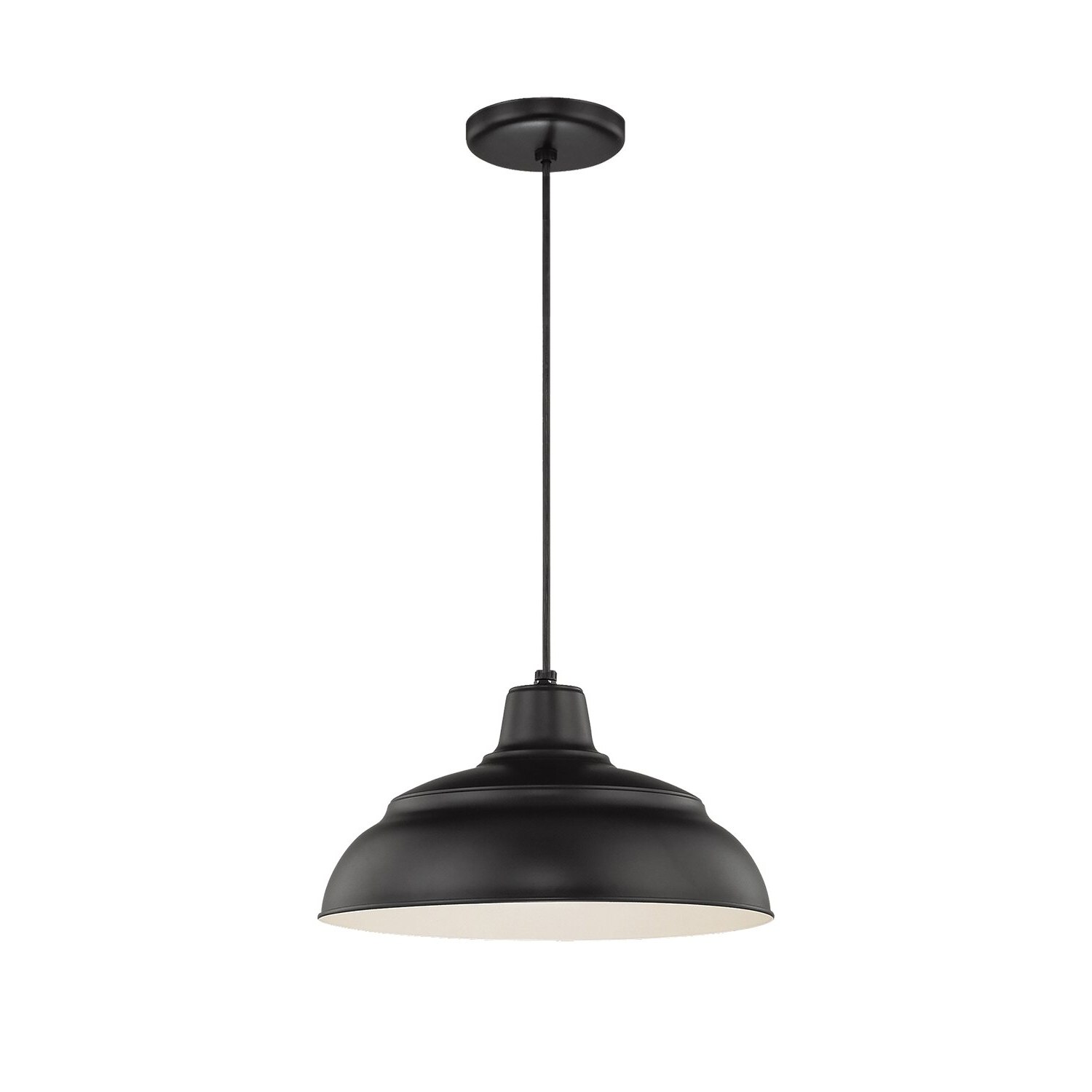 Trendy Conover 1 Light Dome Pendants Within Stetson 1 Light Bowl Pendant (View 20 of 25)