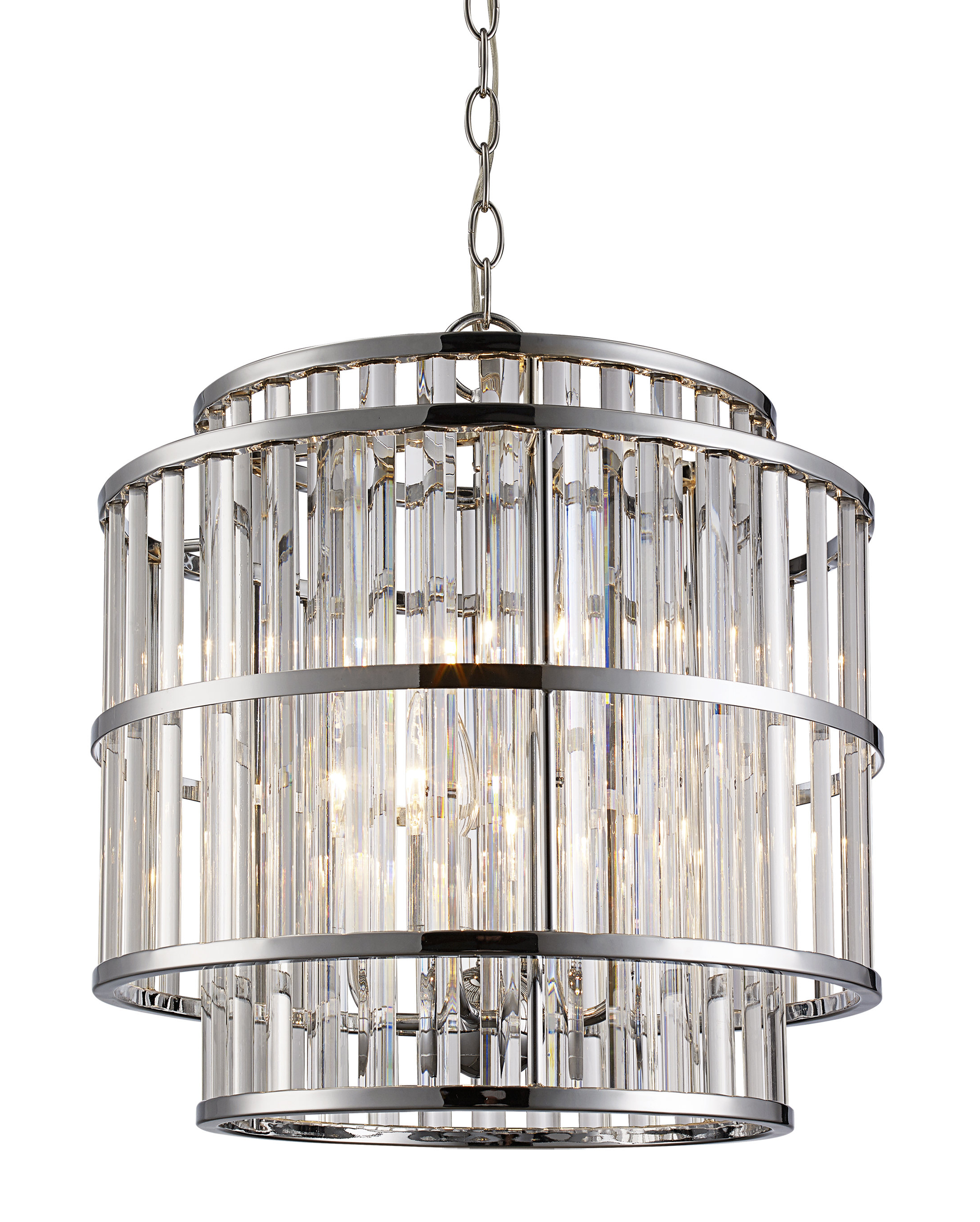 Trendy Dailey 4 Light Drum Chandeliers Within Beeston 4 Light Drum Chandelier (View 4 of 25)