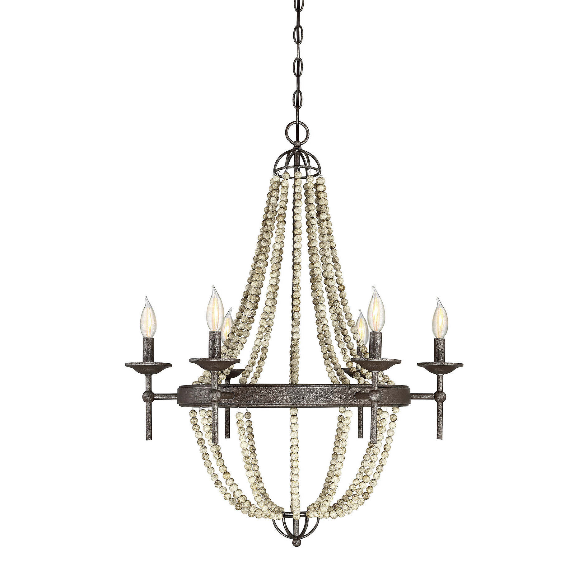 Trendy Duron 5 Light Empire Chandeliers Within Pennington 6 Light Empire Chandelier (View 23 of 25)