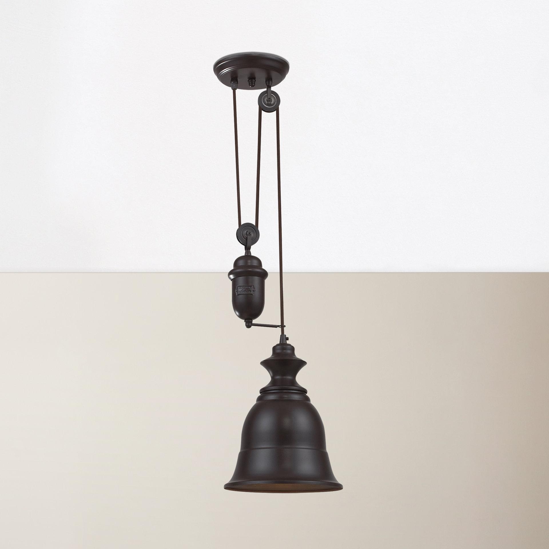 Trendy Erico 1 Light Single Bell Pendants With Regard To August Grove Elsenborn 1 Light Single Bell Pendant (View 23 of 25)