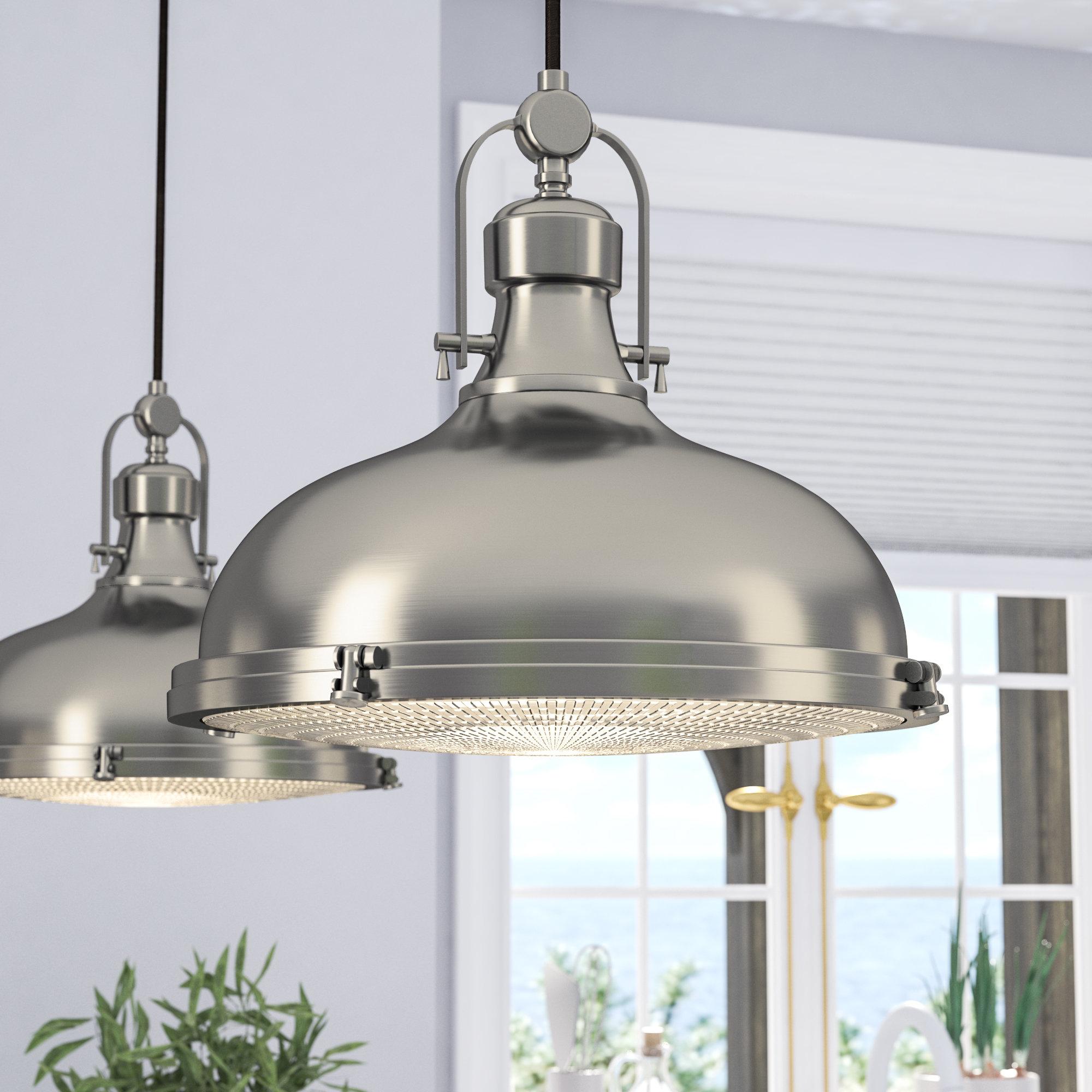 Featured Photo of 1 Light Single Dome Pendants