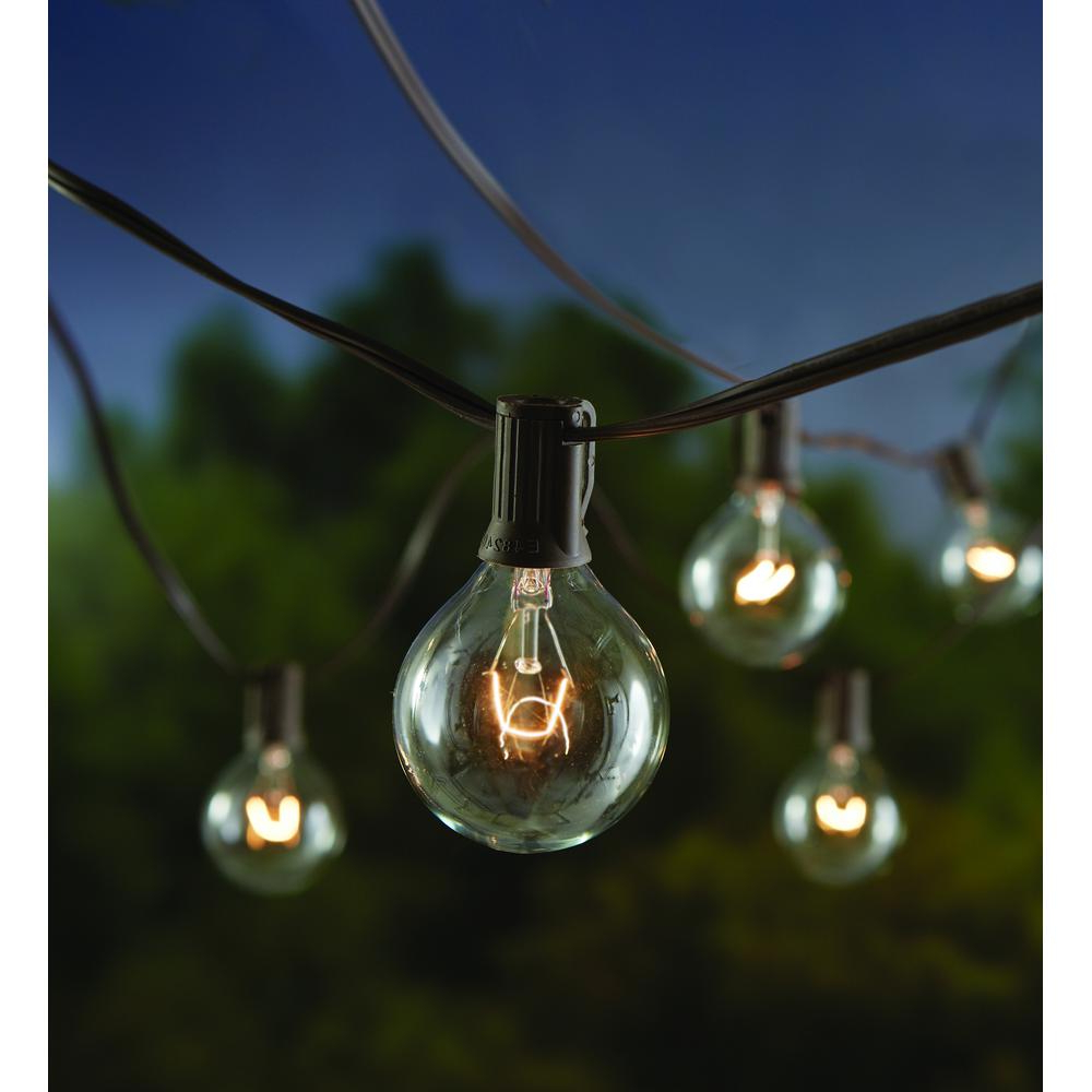 Trendy Hampton Bay 12 Light Large Cafe Clear String Lights Inside Sue 1 Light Single Jar Pendants (View 21 of 25)