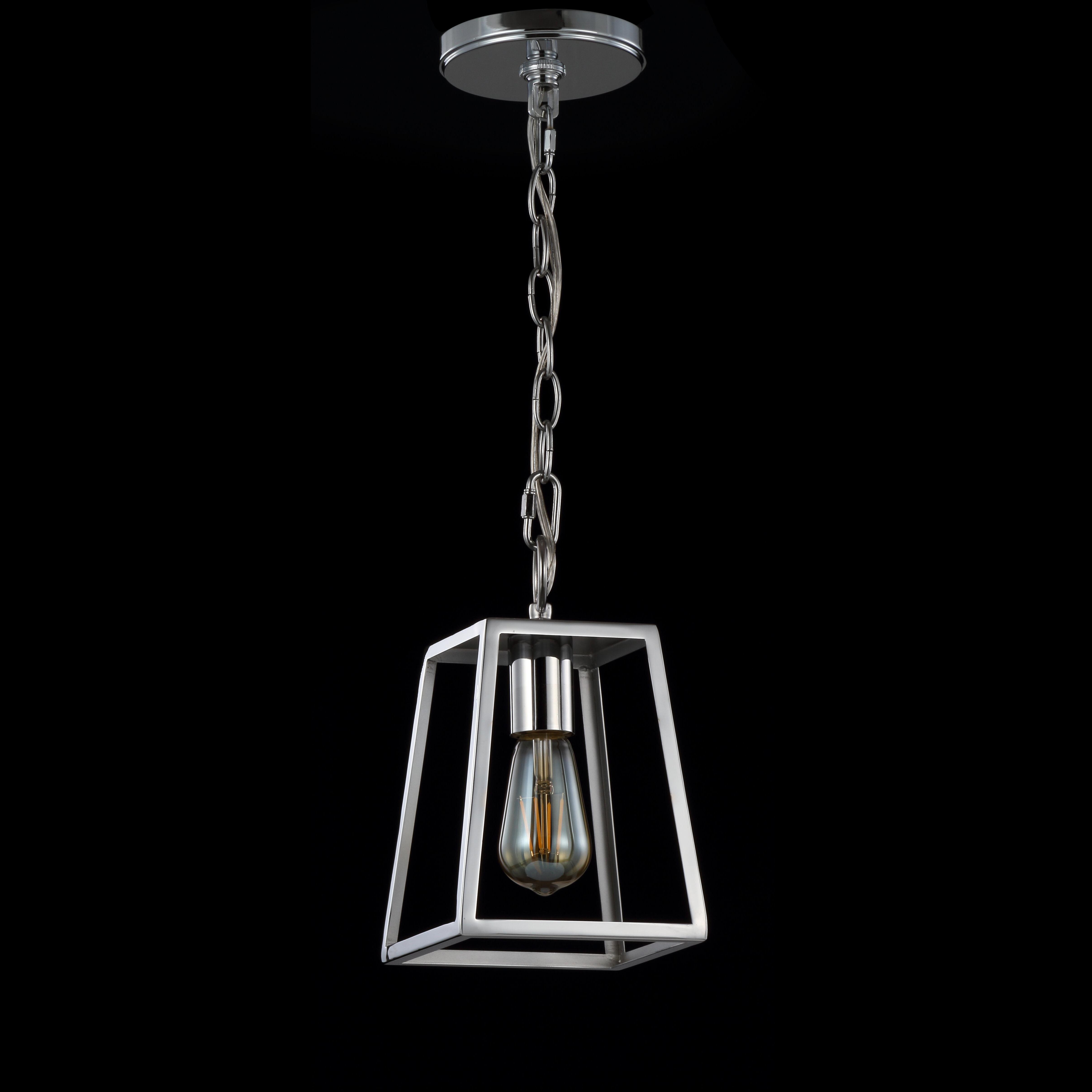Trendy Longshore Tides Braswell Adjustable Drop Metal 1 Light Inside Nolan 1 Light Lantern Chandeliers (View 11 of 25)