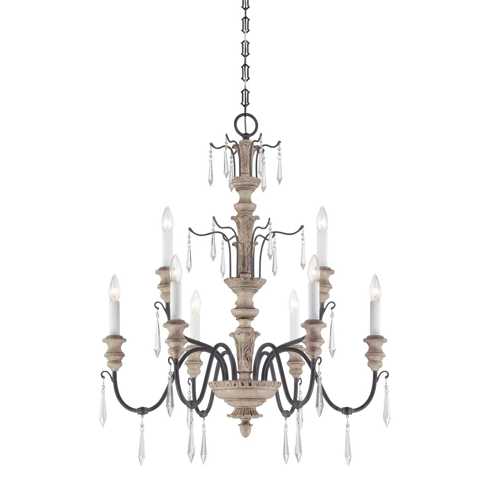 Trendy Senoia Candle Style Chandelier Within Watford 9 Light Candle Style Chandeliers (View 15 of 25)