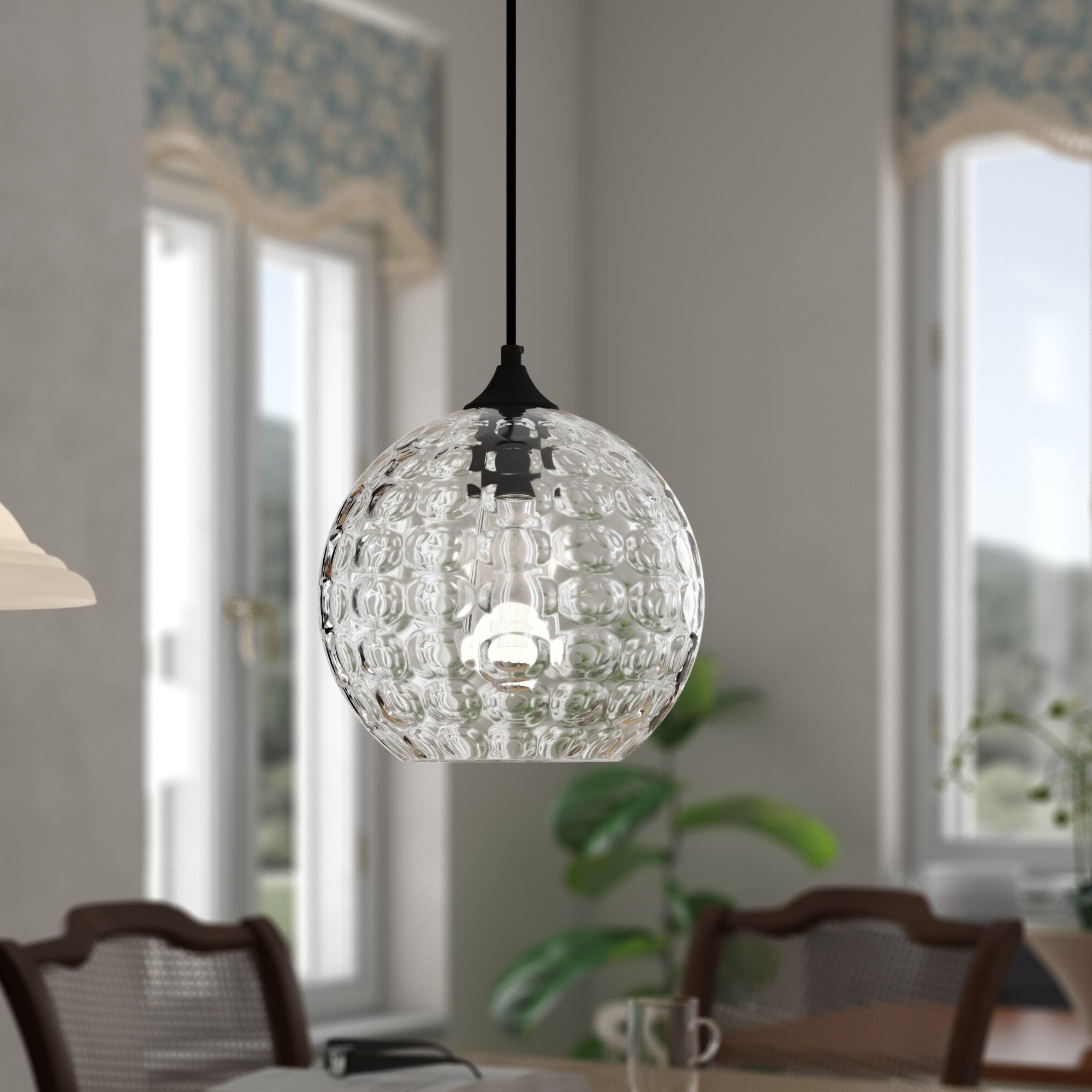Trendy Zulma 1 Light Globe Pendant With Regard To Hurst 1 Light Single Cylinder Pendants (View 11 of 25)