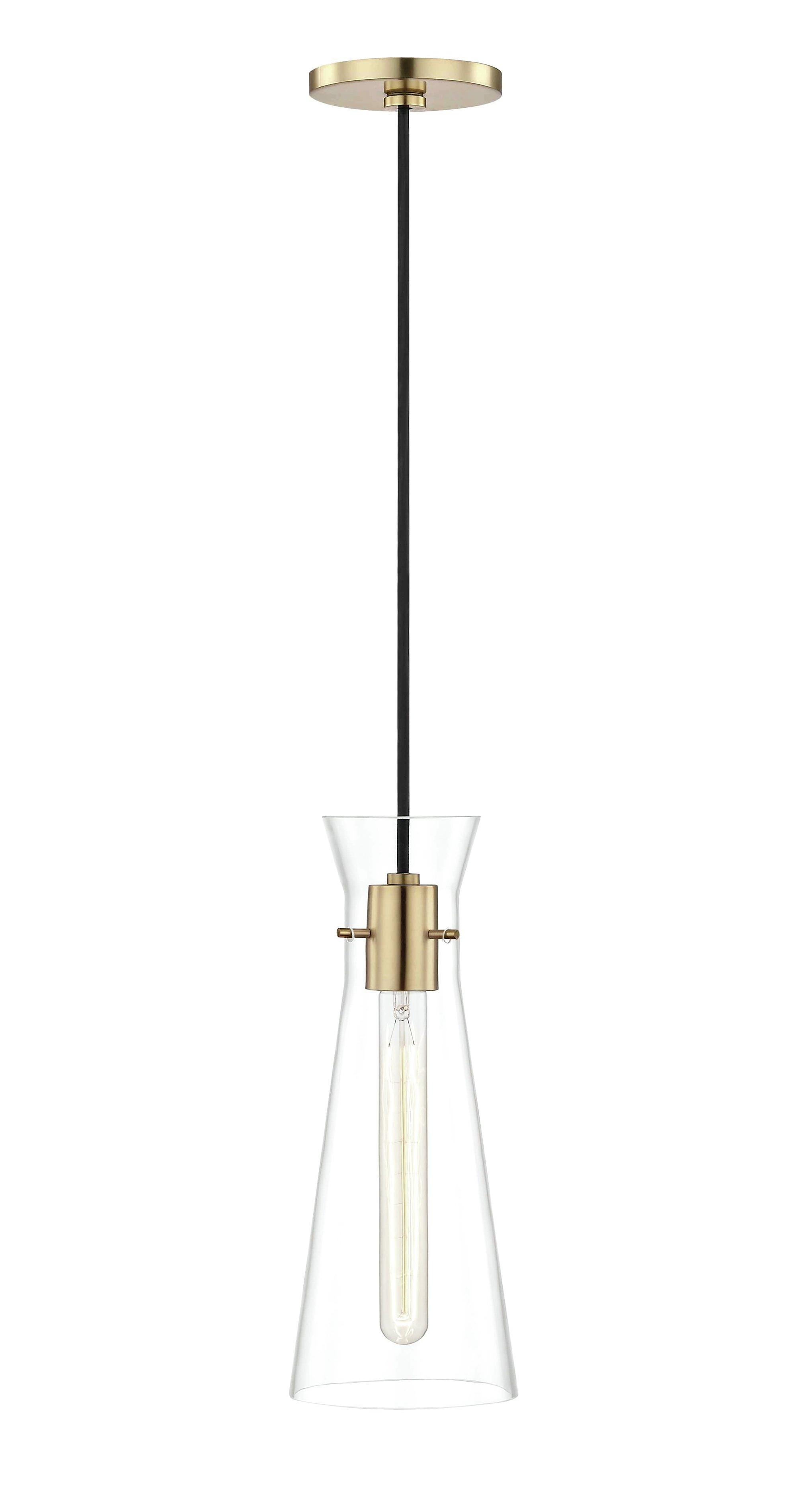 Tucker 1 Light Novelty Pendant For Newest Callington 1 Light Led Single Geometric Pendants (View 19 of 25)
