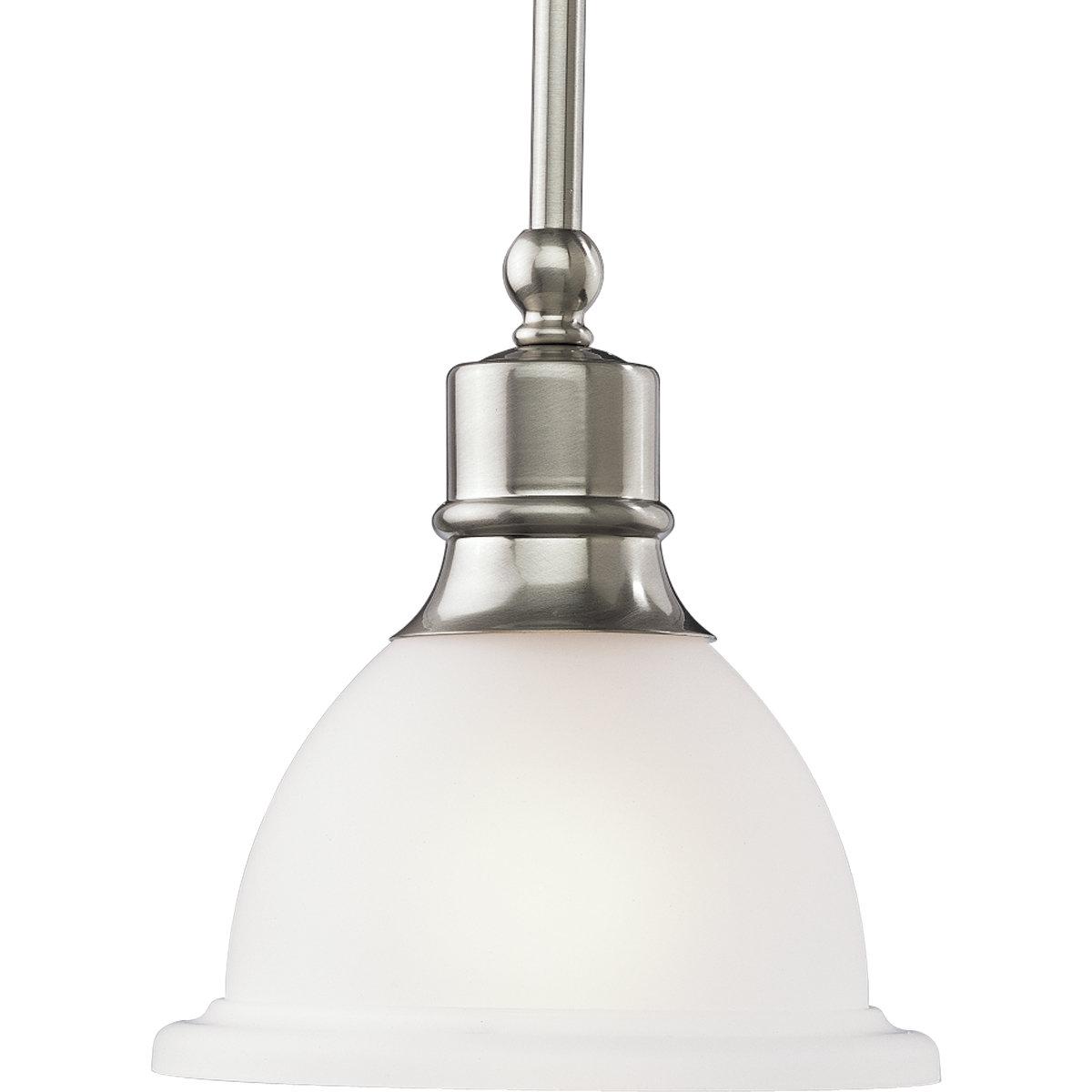 Vangorder 1 Light Single Bell Pendant Within Most Recent Macon 1 Light Single Dome Pendants (View 22 of 25)