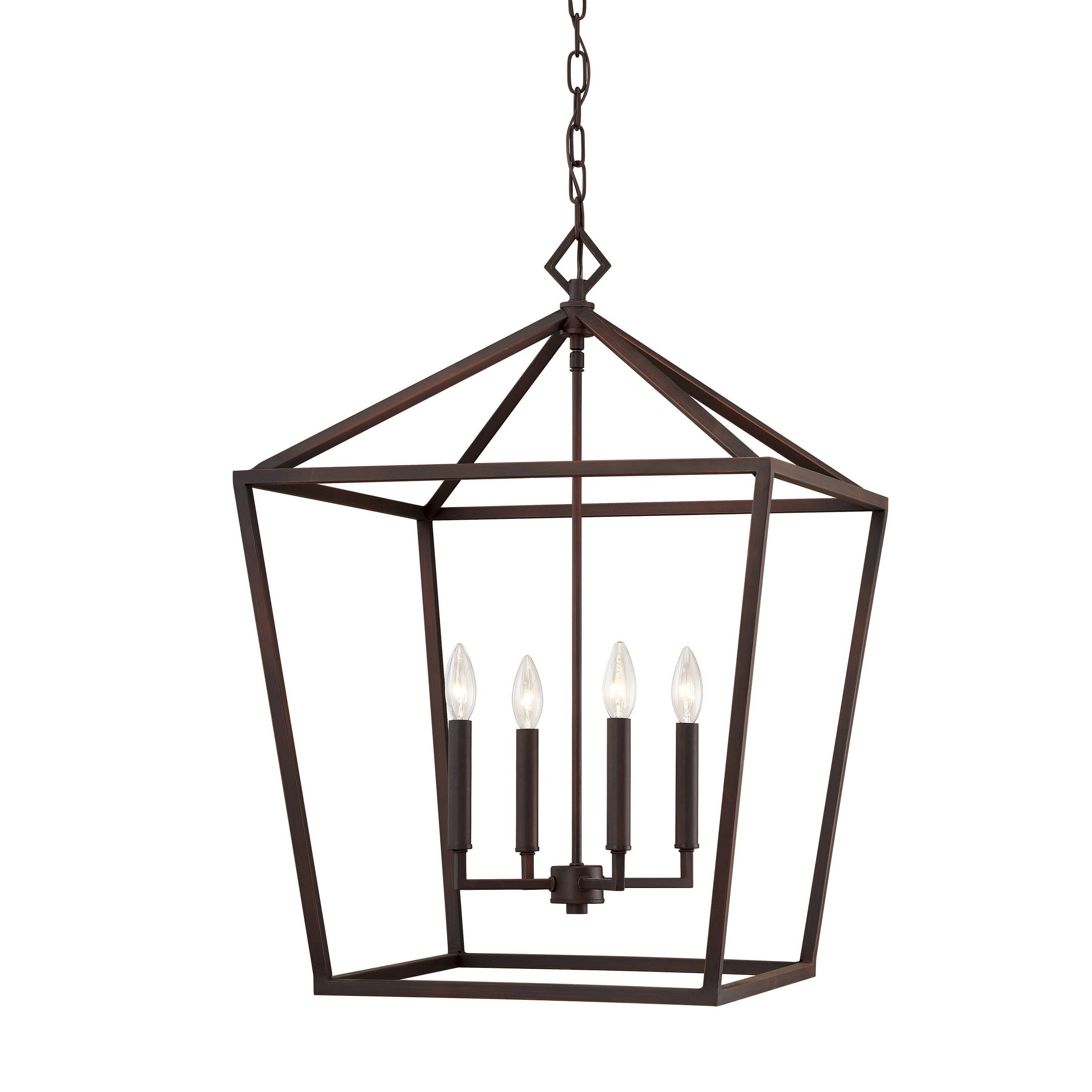Varnum 4 Light Lantern Pendants With Current Varnum 4 Light Lantern Pendant (View 4 of 25)