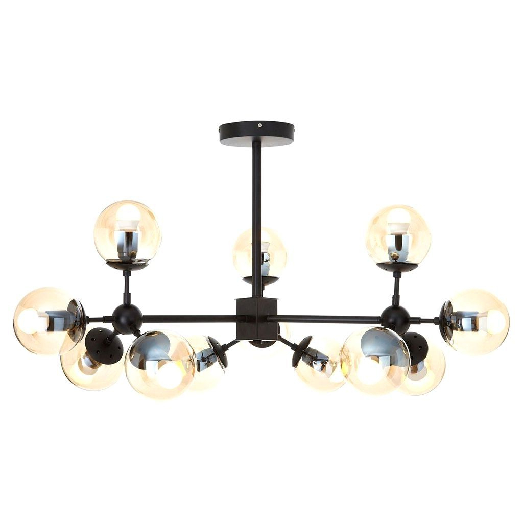 Verdell 5-Light Crystal Chandeliers inside Trendy Black Iron Beast – Yakamoz.club