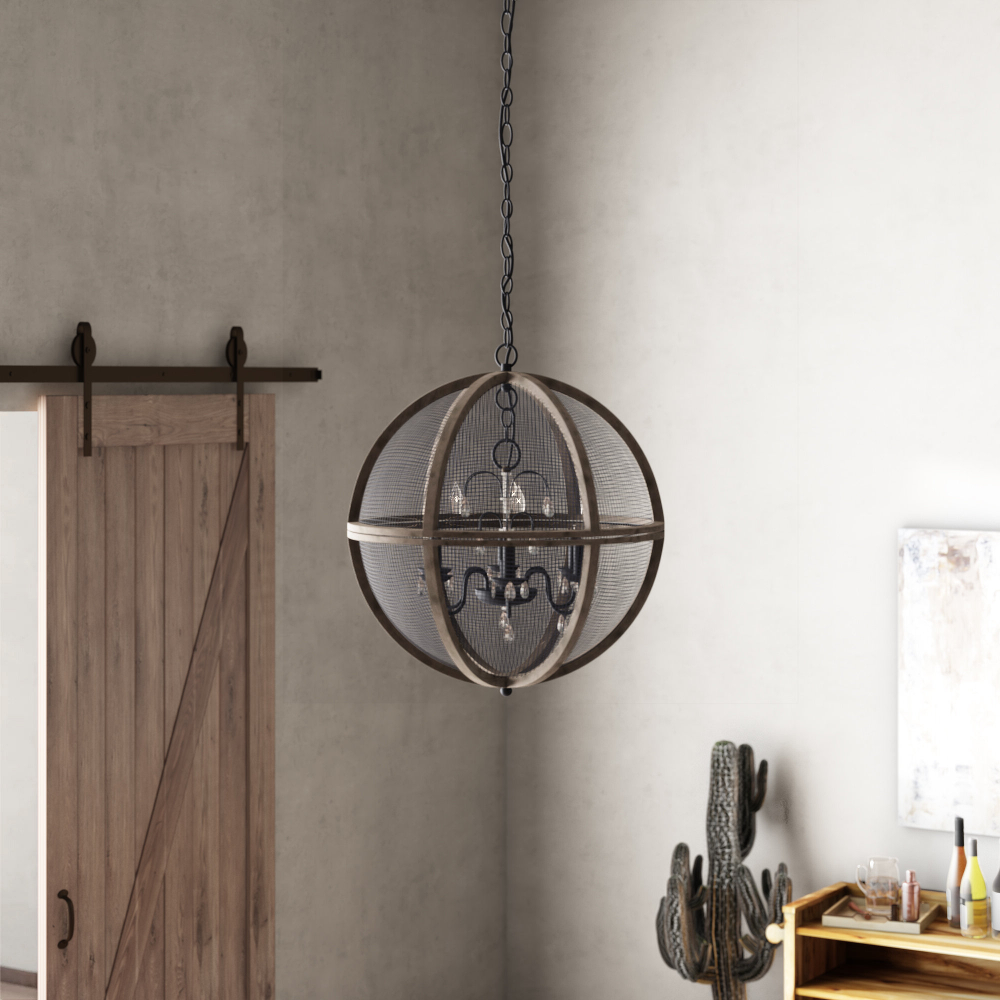 Verlene Foyer 5-Light Globe Chandeliers pertaining to Recent Frodsham 5-Light Globe Chandelier
