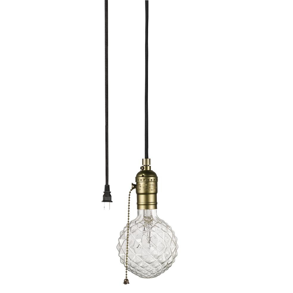 Vintage Edison 1-Light Bowl Pendants for Newest Globe Electric Edison 1-Light Matte Bronze And Black Pendant