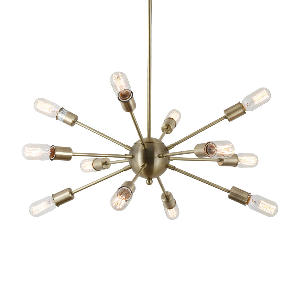 Vroman 12-Light Sputnik Chandeliers in 2019 Dyar 12-Light Sputnik Chandelier