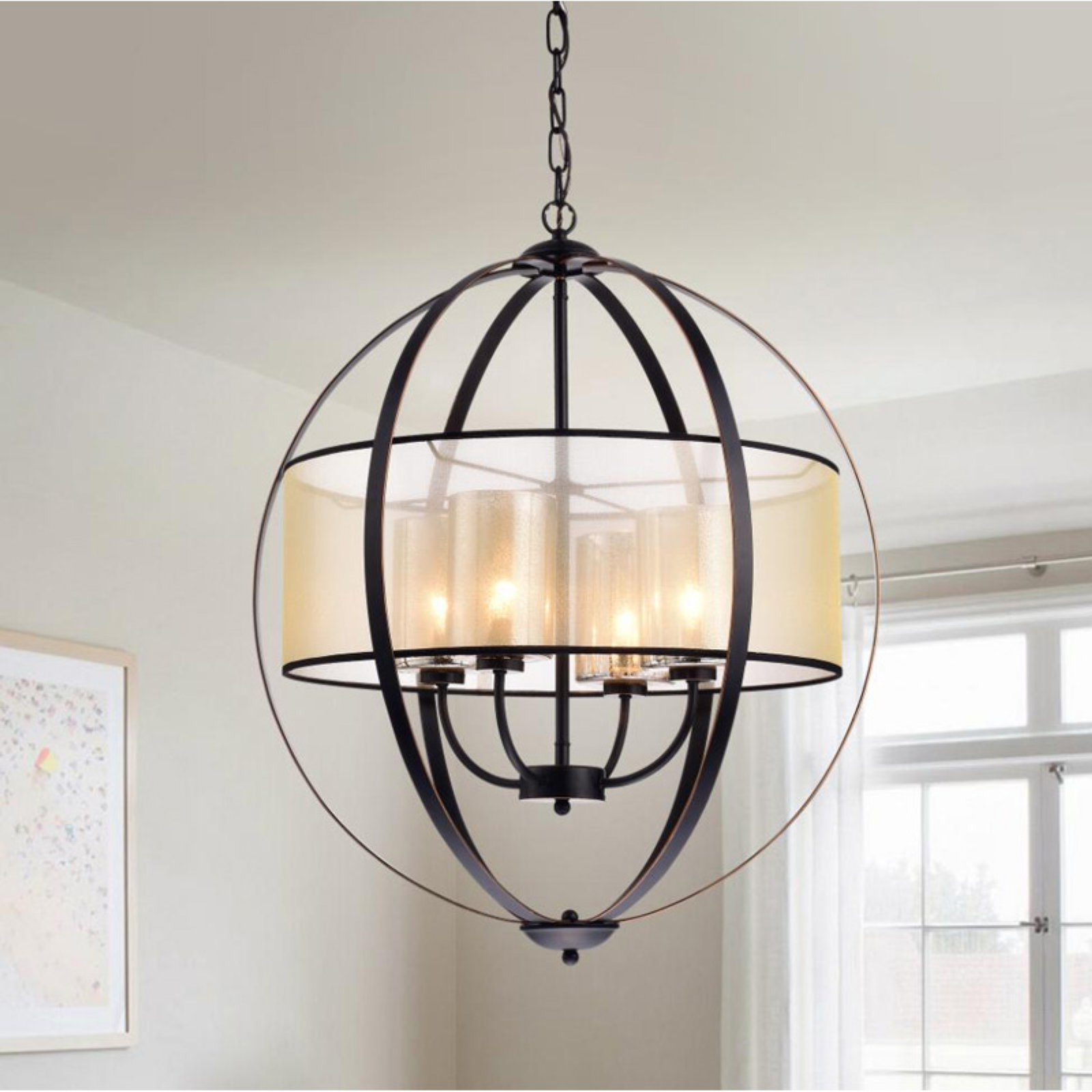 Warehouse Of Tiffany Rl8198C/orb Chandelier In 2019 With Regard To Most Recent Aadhya 5 Light Drum Chandeliers (View 17 of 25)