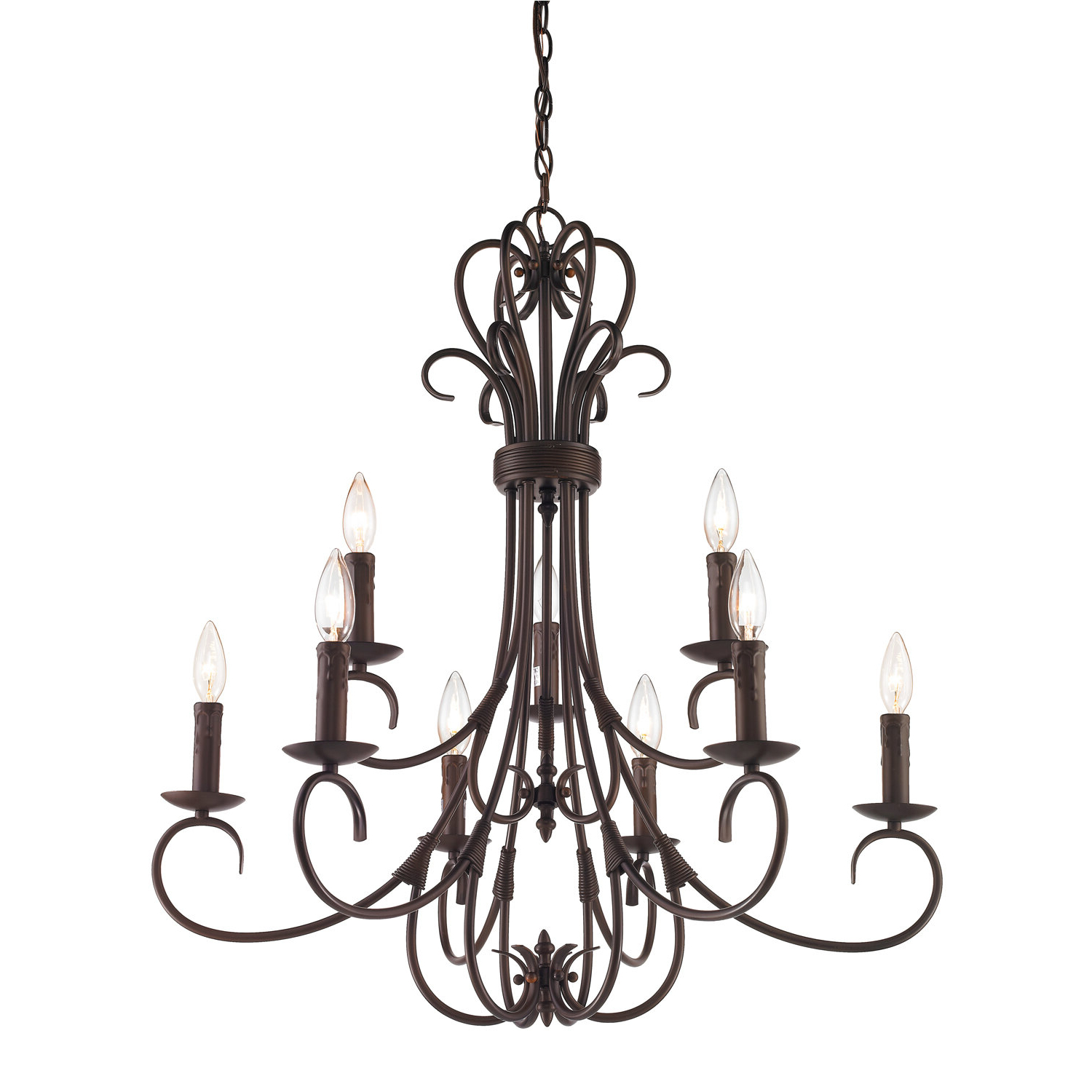 Wayfair For Well Liked Kenedy 9 Light Candle Style Chandeliers (View 24 of 25)