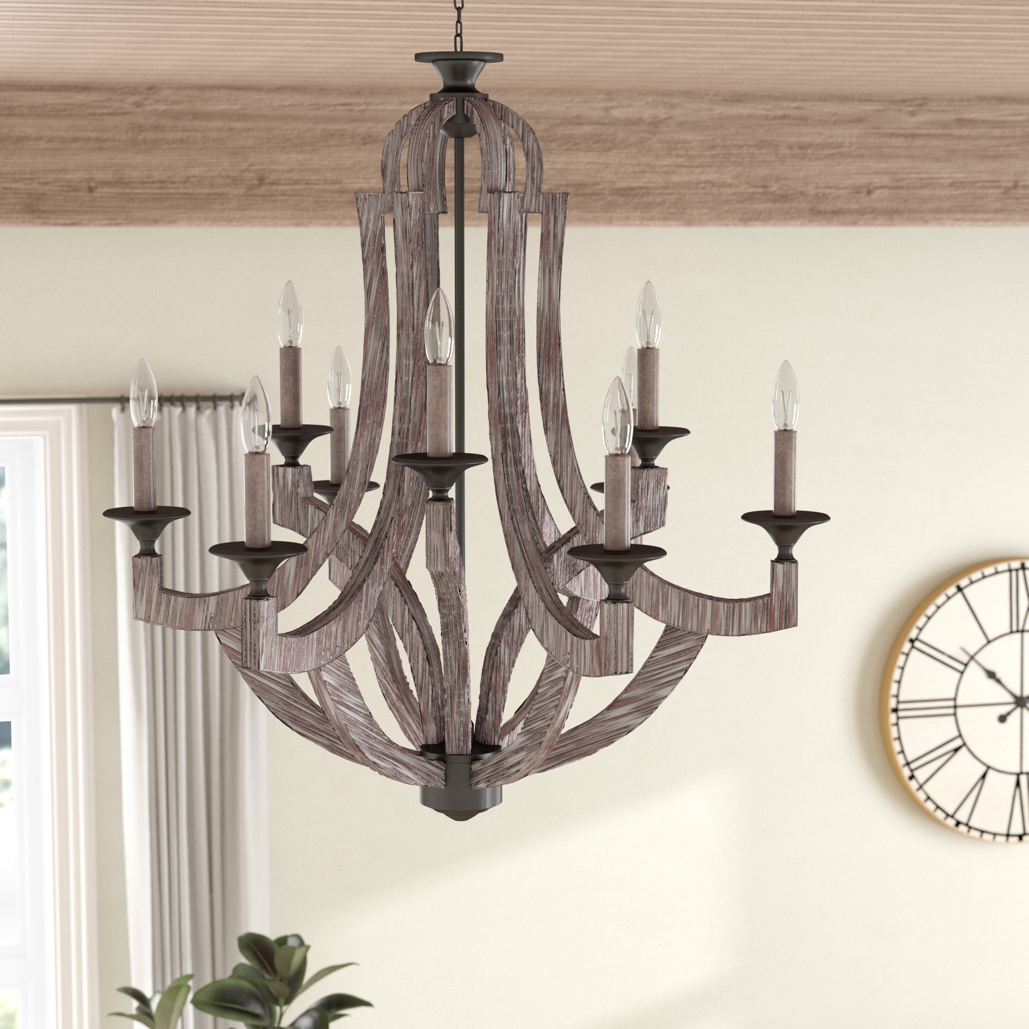 Wayfair Pertaining To Best And Newest Camilla 9 Light Candle Style Chandeliers (View 21 of 25)