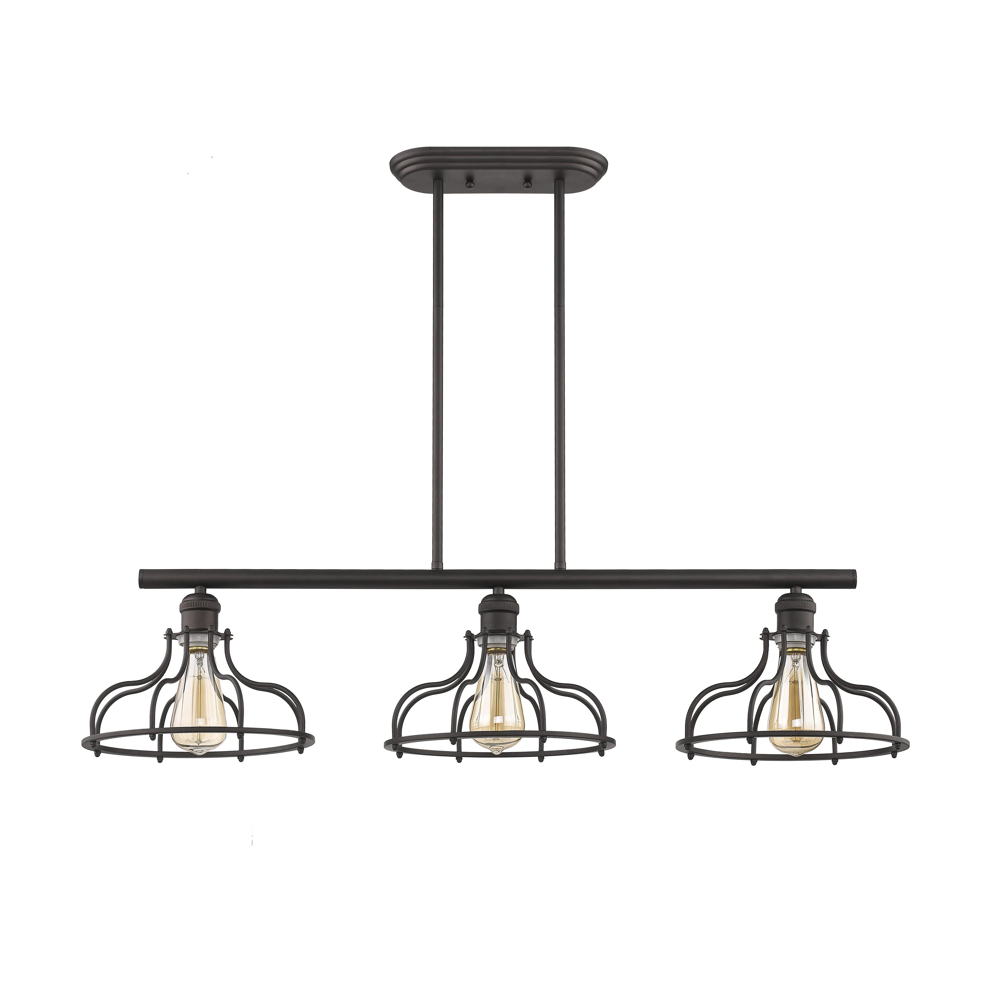 Wayfair With Regard To Akash Industrial Vintage 1 Light Geometric Pendants (View 6 of 25)