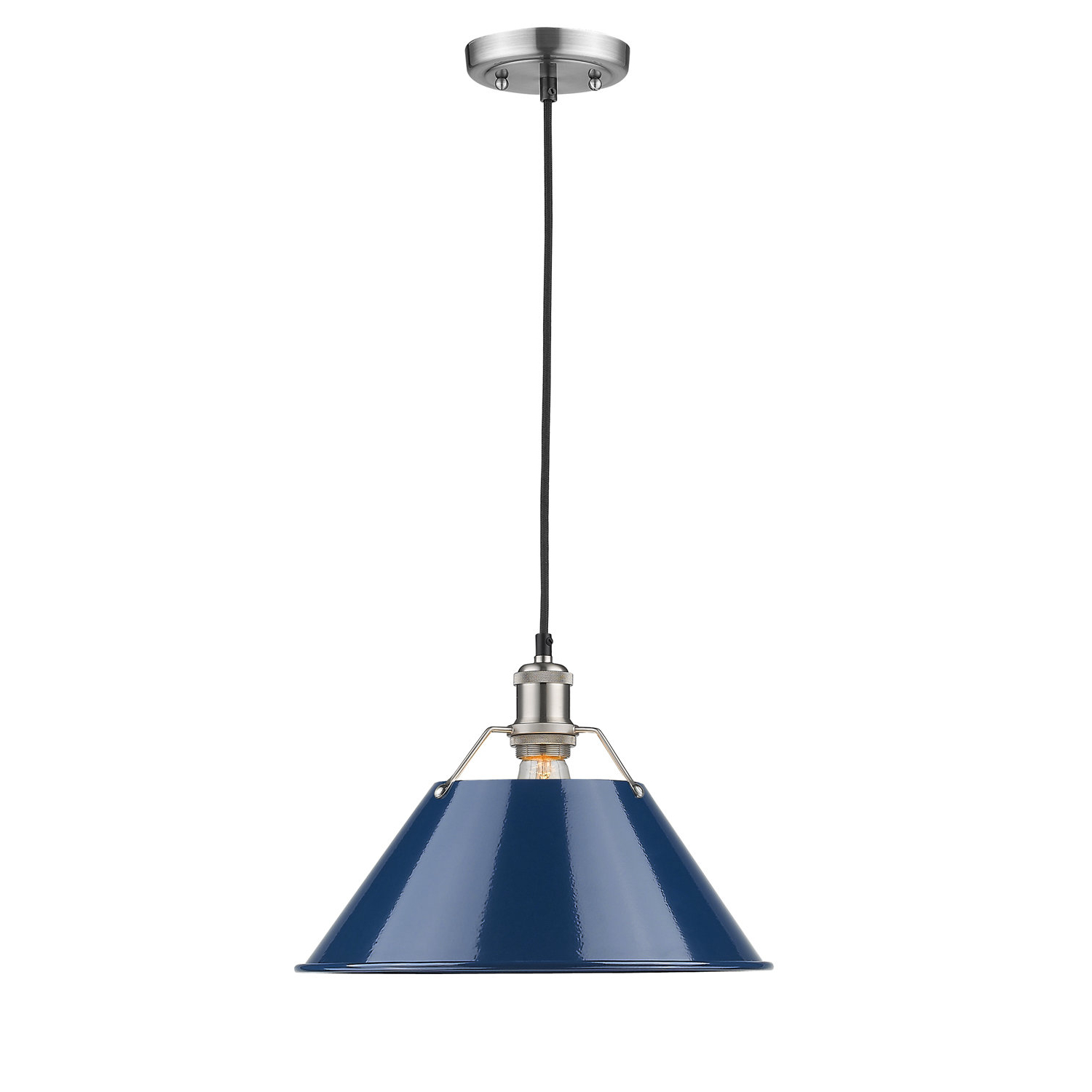 Weatherford 1 Light Single Cone Pendant For Most Popular Nadeau 1 Light Single Cone Pendants (View 11 of 25)