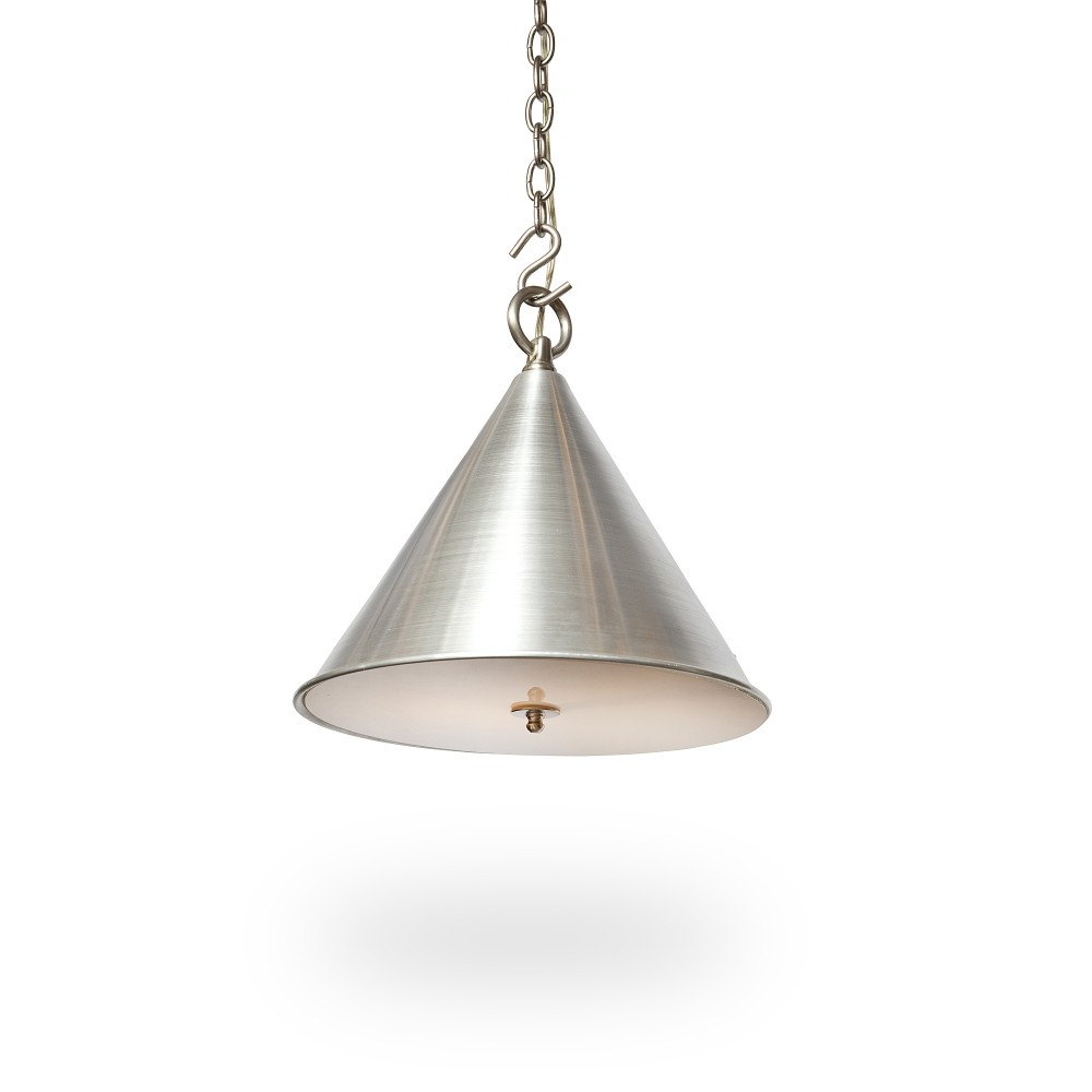 "Well Known 20"" Cone Light With Diffuser – Ann Morris – Custom Lighting Pertaining To Moris 1 Light Cone Pendants (View 6 of 25)"